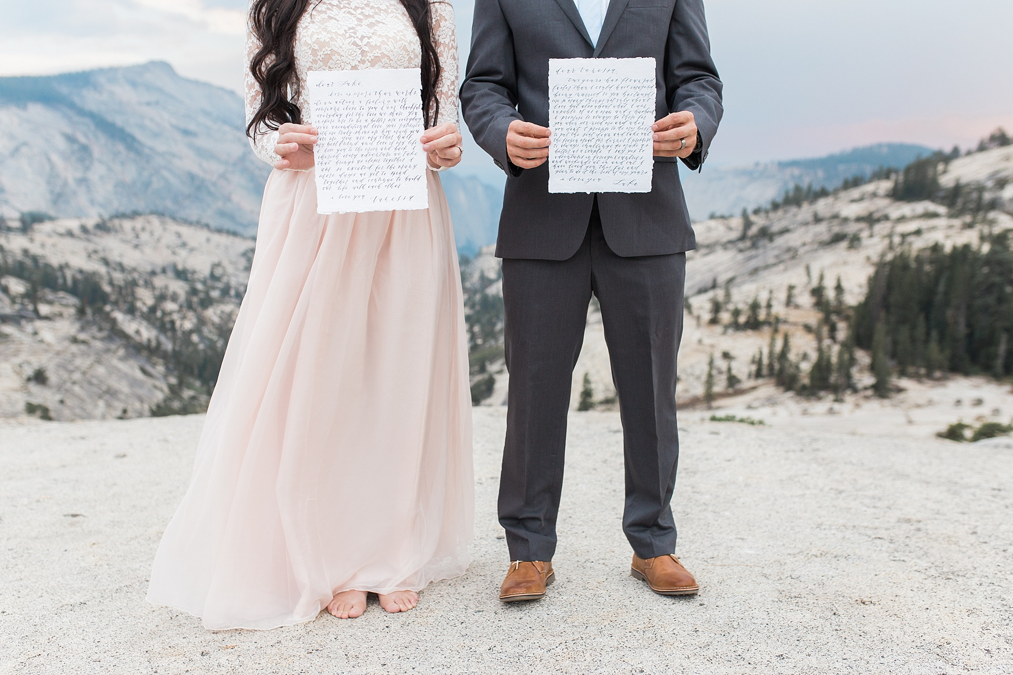 Ashley Baumgartner Photography & Calligraphy Yosemite Vow Renewal featured on 100 Layer Cake_0003.jpg