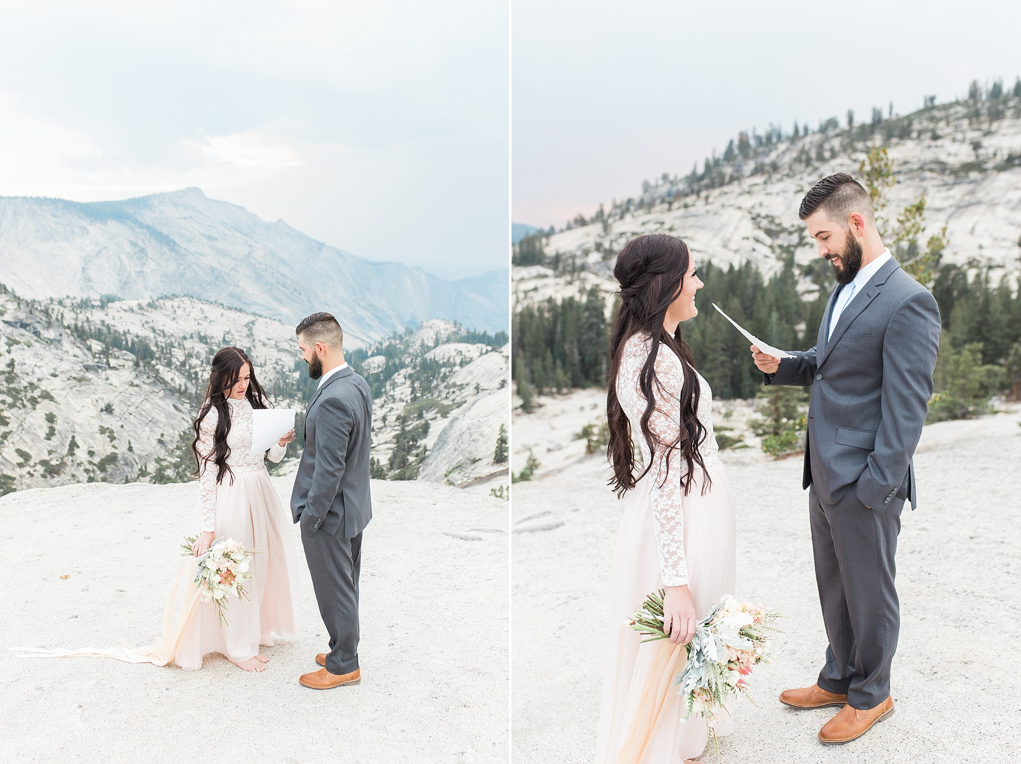 Ashley Baumgartner Photography & Calligraphy Yosemite Vow Renewal featured on 100 Layer Cake_0004.jpg