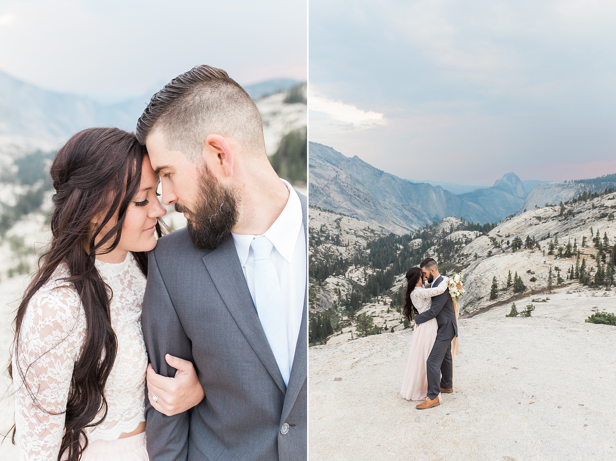 Ashley Baumgartner Photography & Calligraphy Yosemite Vow Renewal featured on 100 Layer Cake_0006.jpg