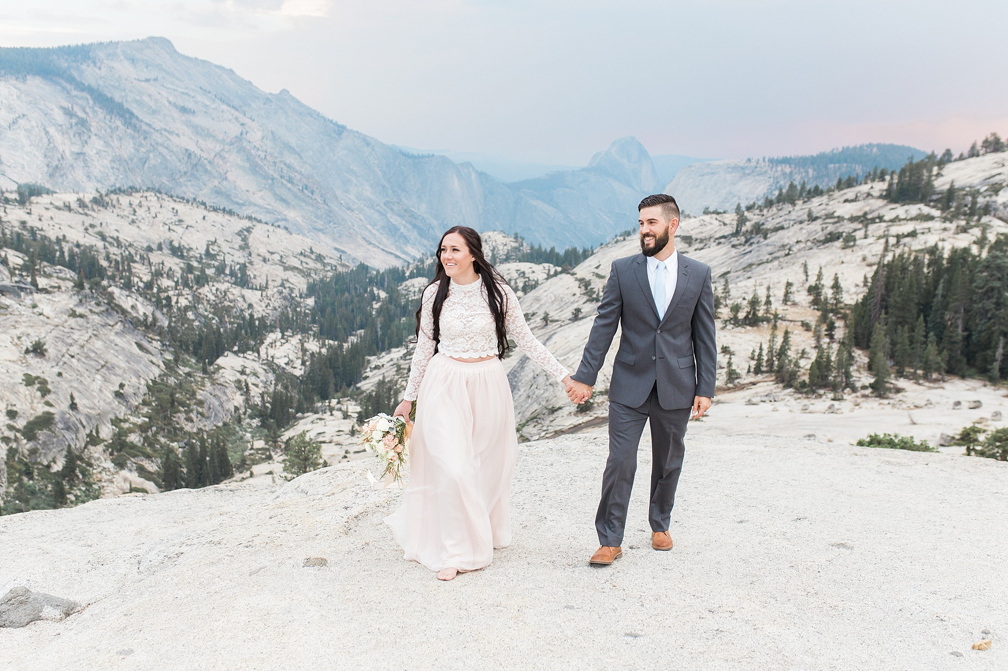 Ashley Baumgartner Photography & Calligraphy Yosemite Vow Renewal featured on 100 Layer Cake_0007.jpg