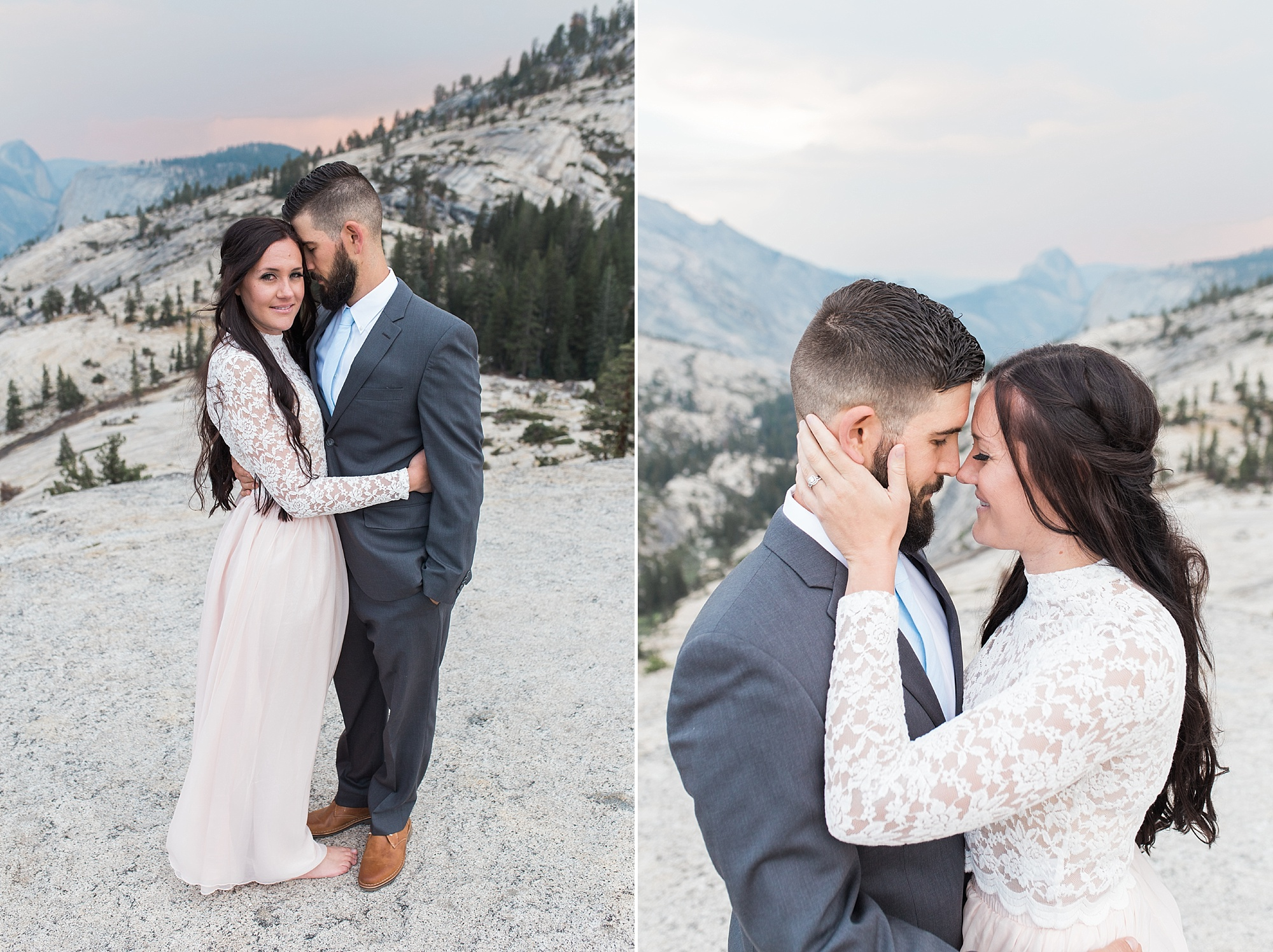 Ashley Baumgartner Photography & Calligraphy Yosemite Vow Renewal featured on 100 Layer Cake_0008.jpg