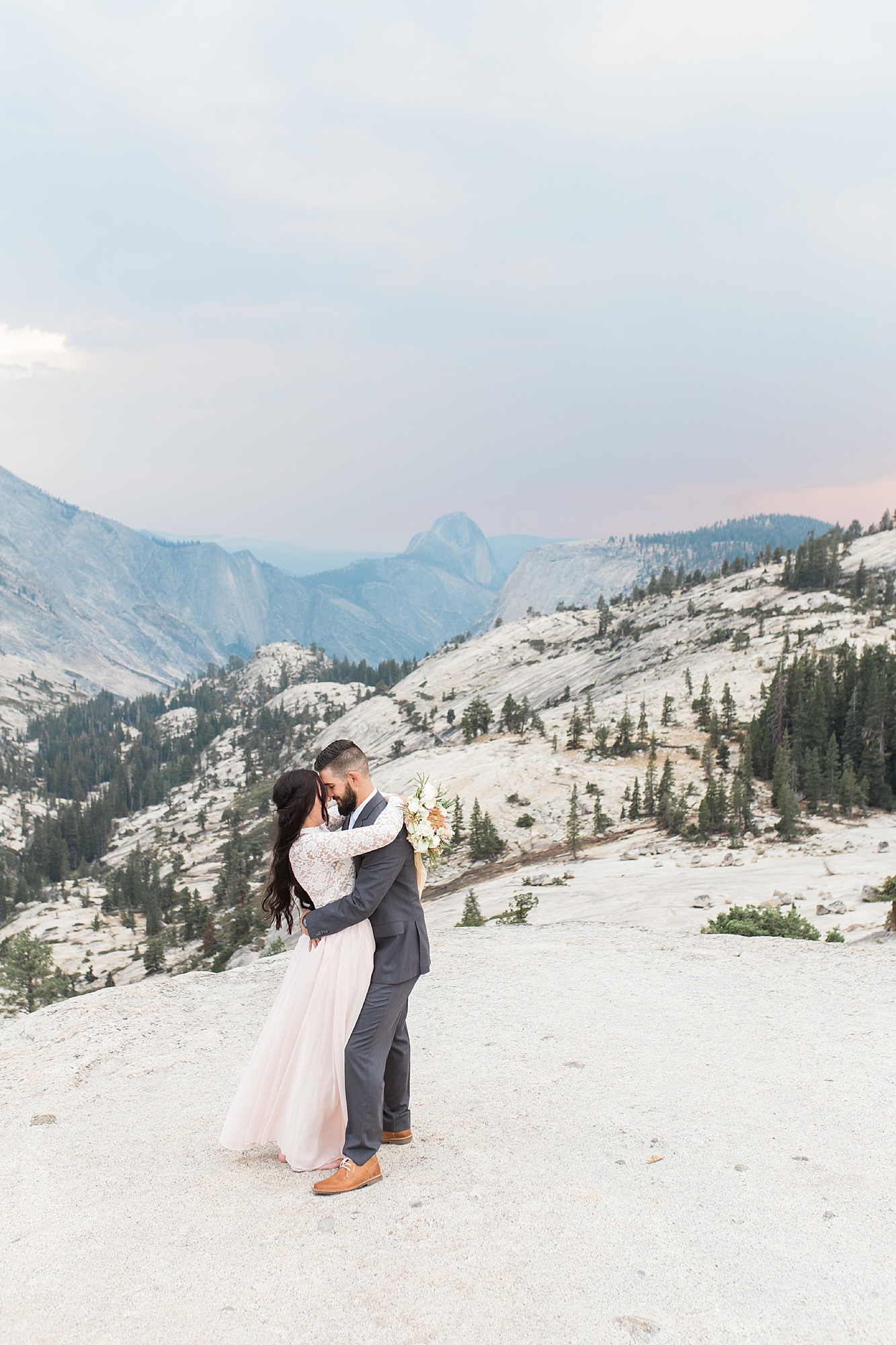 Ashley Baumgartner Photography & Calligraphy Yosemite Vow Renewal featured on 100 Layer Cake_0009.jpg
