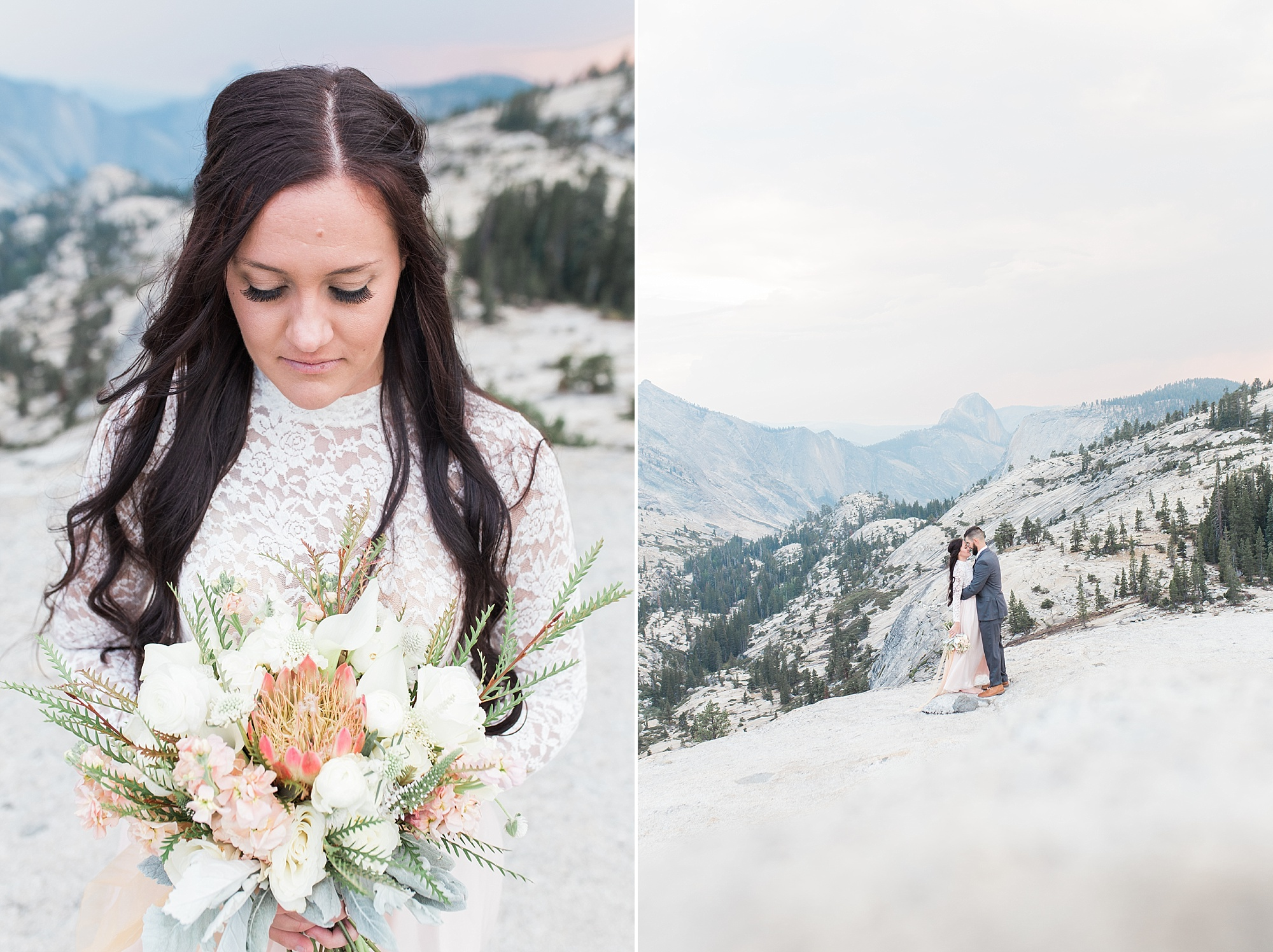 Ashley Baumgartner Photography & Calligraphy Yosemite Vow Renewal featured on 100 Layer Cake_0010.jpg