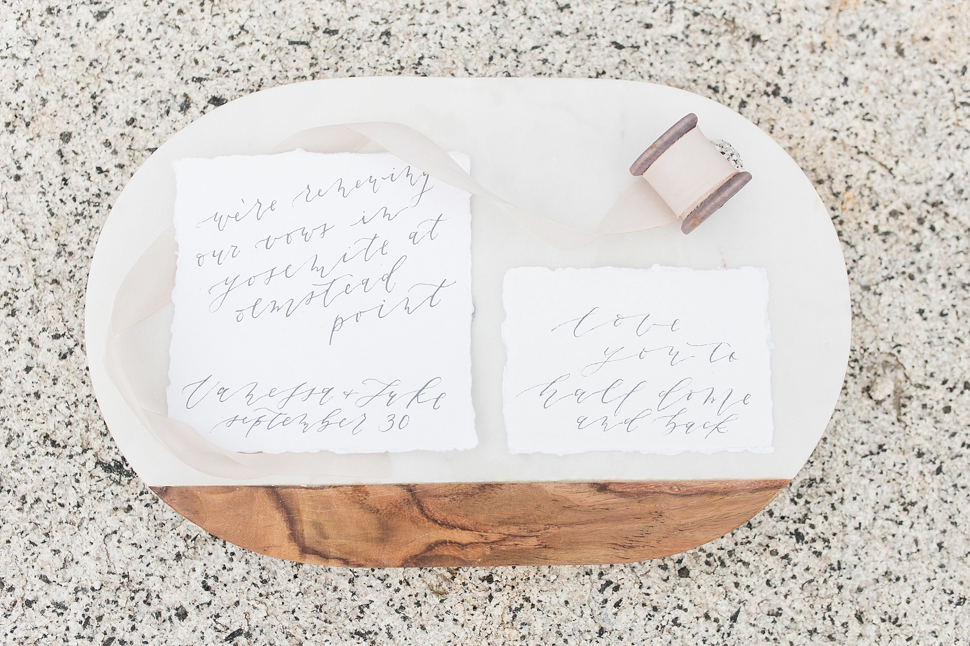 Ashley Baumgartner Photography & Calligraphy Yosemite Vow Renewal featured on 100 Layer Cake_0015.jpg