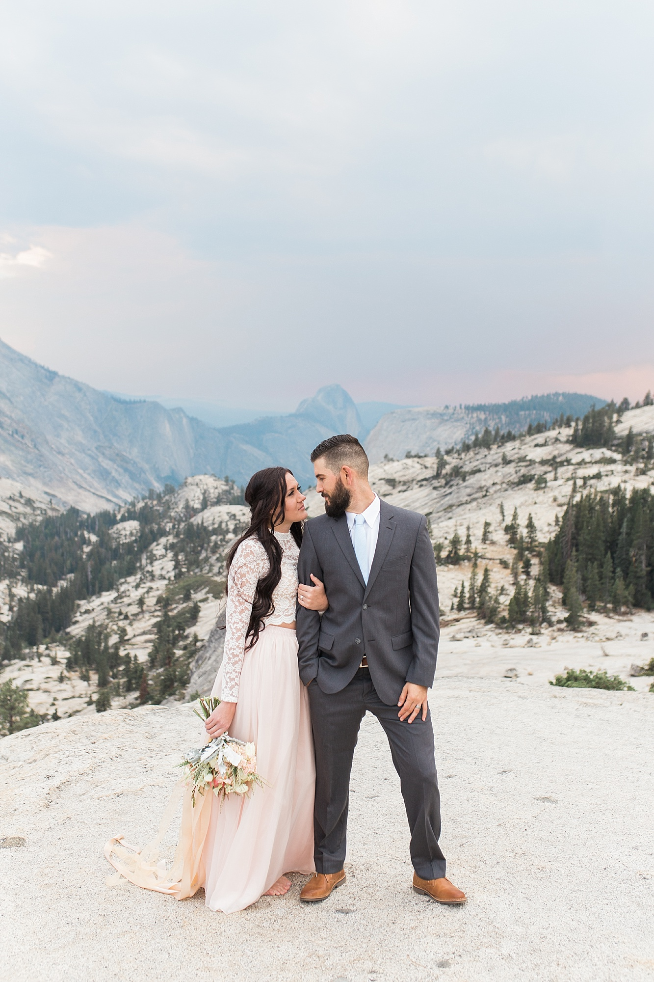Ashley Baumgartner Photography & Calligraphy Yosemite Vow Renewal featured on 100 Layer Cake_0017.jpg