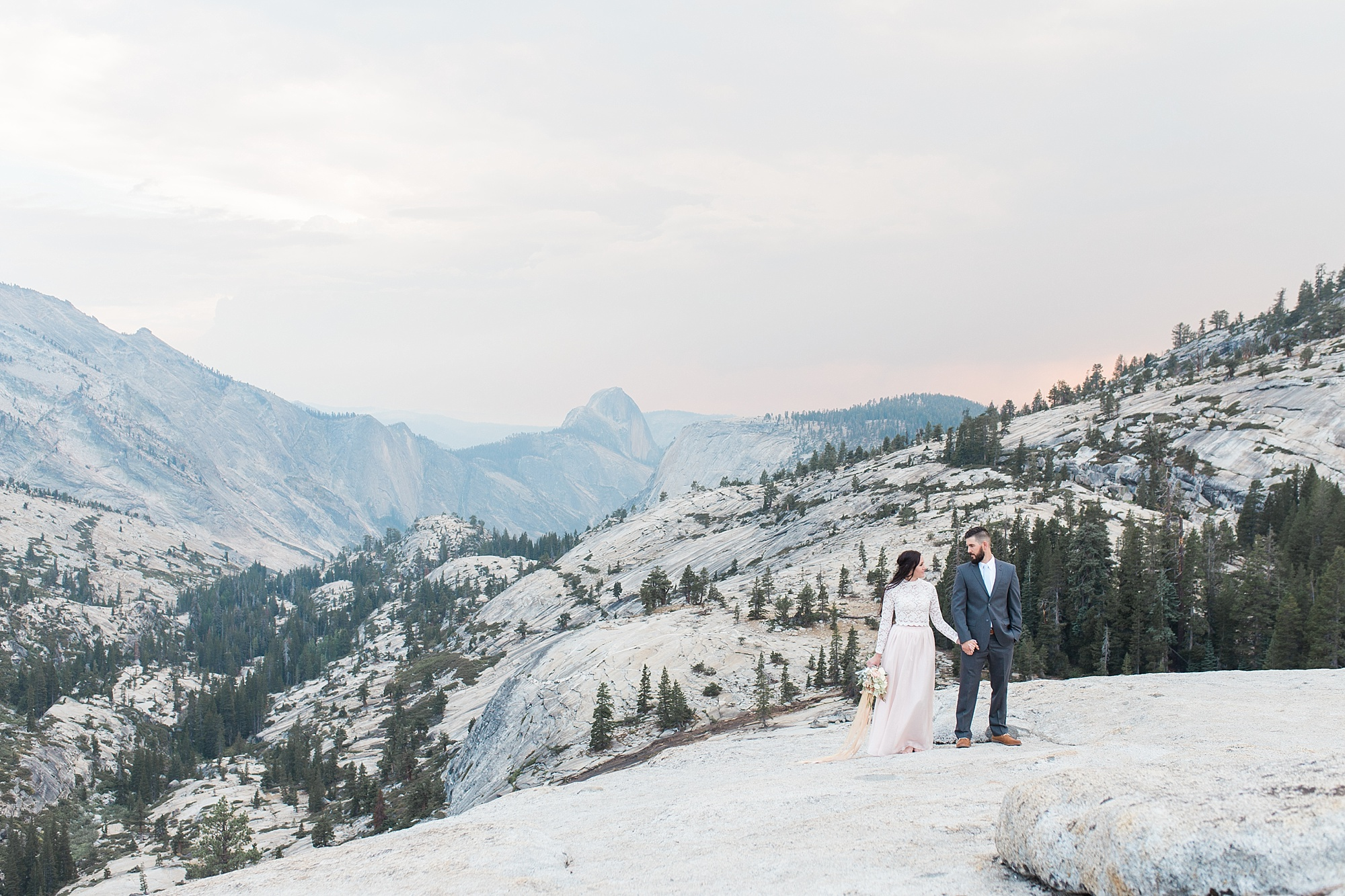 Ashley Baumgartner Photography & Calligraphy Yosemite Vow Renewal featured on 100 Layer Cake_0018.jpg