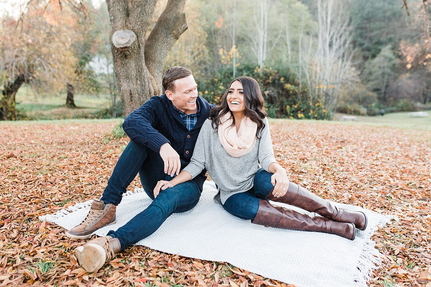 How to Have A Fun Engagement Picnic in Apple Hill - Brooke and Darin - Ashley Baumgartner - Sacramento Wedding Photographer_0003.jpg