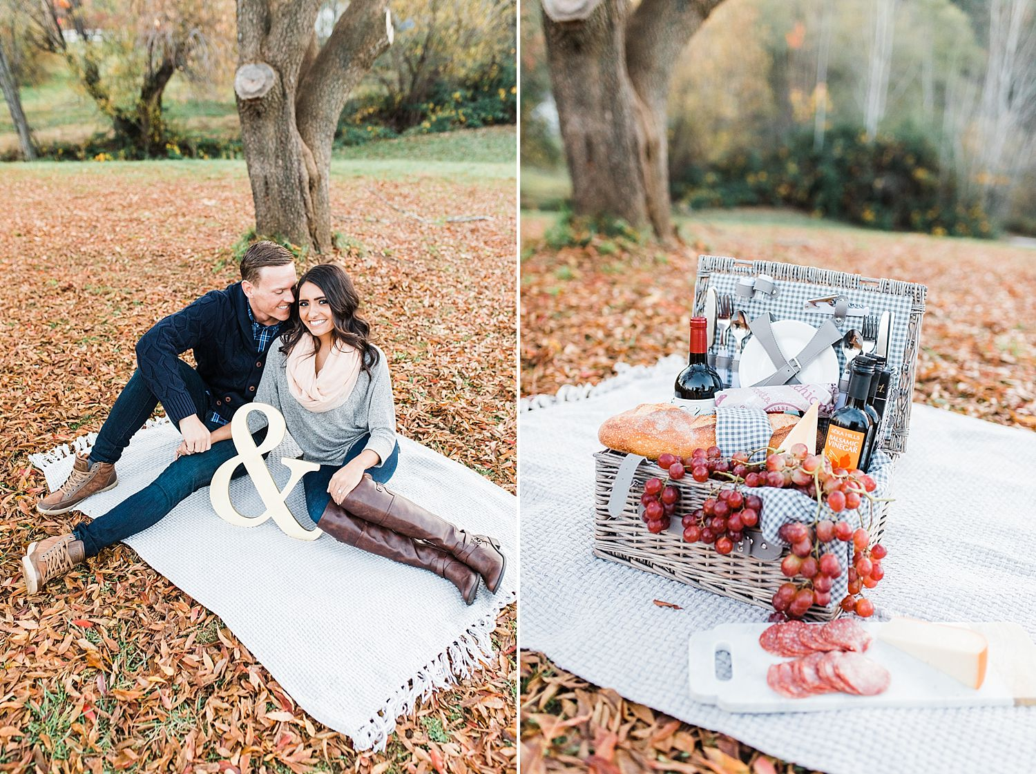 How to Have A Fun Engagement Picnic in Apple Hill - Brooke and Darin - Ashley Baumgartner - Sacramento Wedding Photographer_0004.jpg