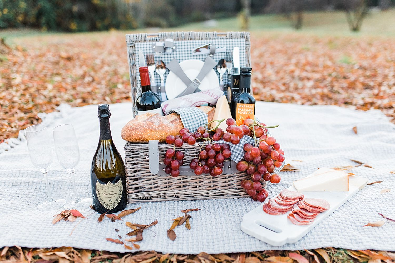 How to Have A Fun Engagement Picnic in Apple Hill - Brooke and Darin - Ashley Baumgartner - Sacramento Wedding Photographer_0007.jpg
