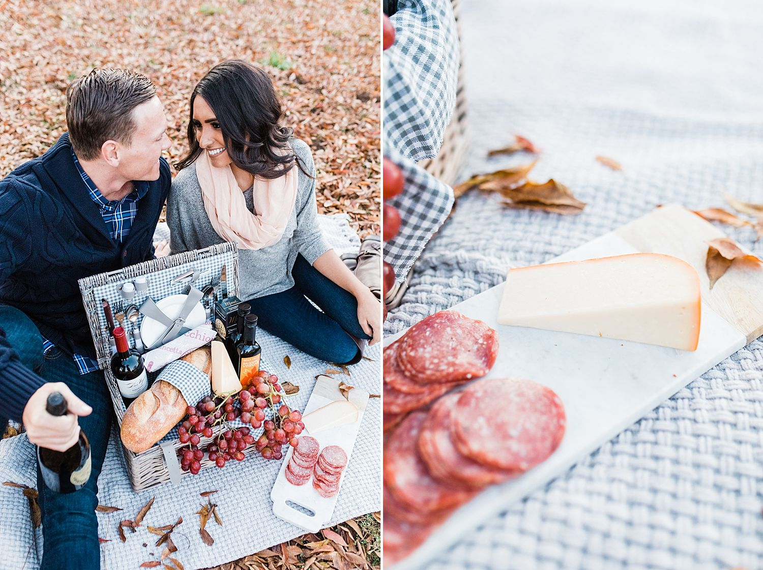 How to Have A Fun Engagement Picnic in Apple Hill - Brooke and Darin - Ashley Baumgartner - Sacramento Wedding Photographer_0008.jpg