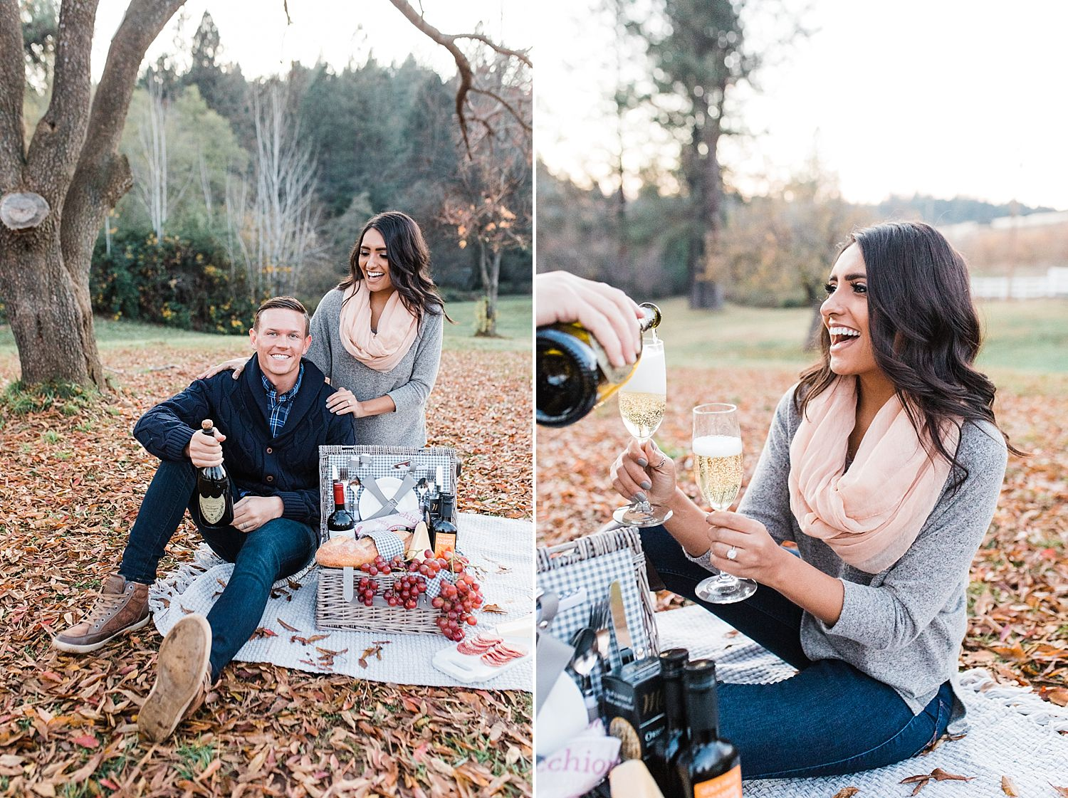 How to Have A Fun Engagement Picnic in Apple Hill - Brooke and Darin - Ashley Baumgartner - Sacramento Wedding Photographer_0012.jpg