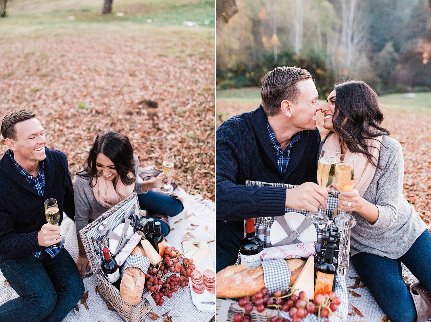 How to Have A Fun Engagement Picnic in Apple Hill - Brooke and Darin - Ashley Baumgartner - Sacramento Wedding Photographer_0014.jpg