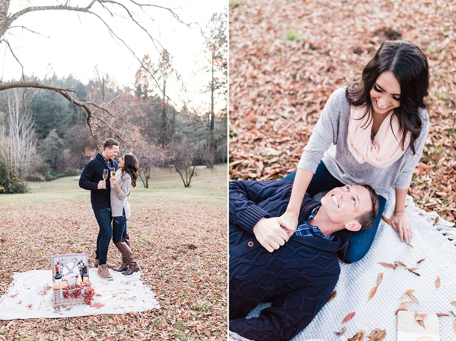 How to Have A Fun Engagement Picnic in Apple Hill - Brooke and Darin - Ashley Baumgartner - Sacramento Wedding Photographer_0016.jpg