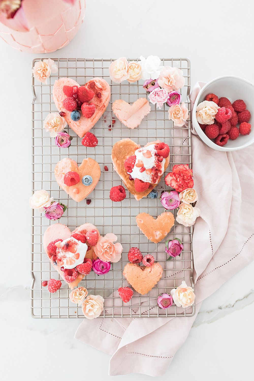 Valentine's Heart Pancakes for Valentine's Brunch with Beijos Events Blog - Ashley Baumgartner - Sacramento Wedding and Couples Photographer_0013.jpg