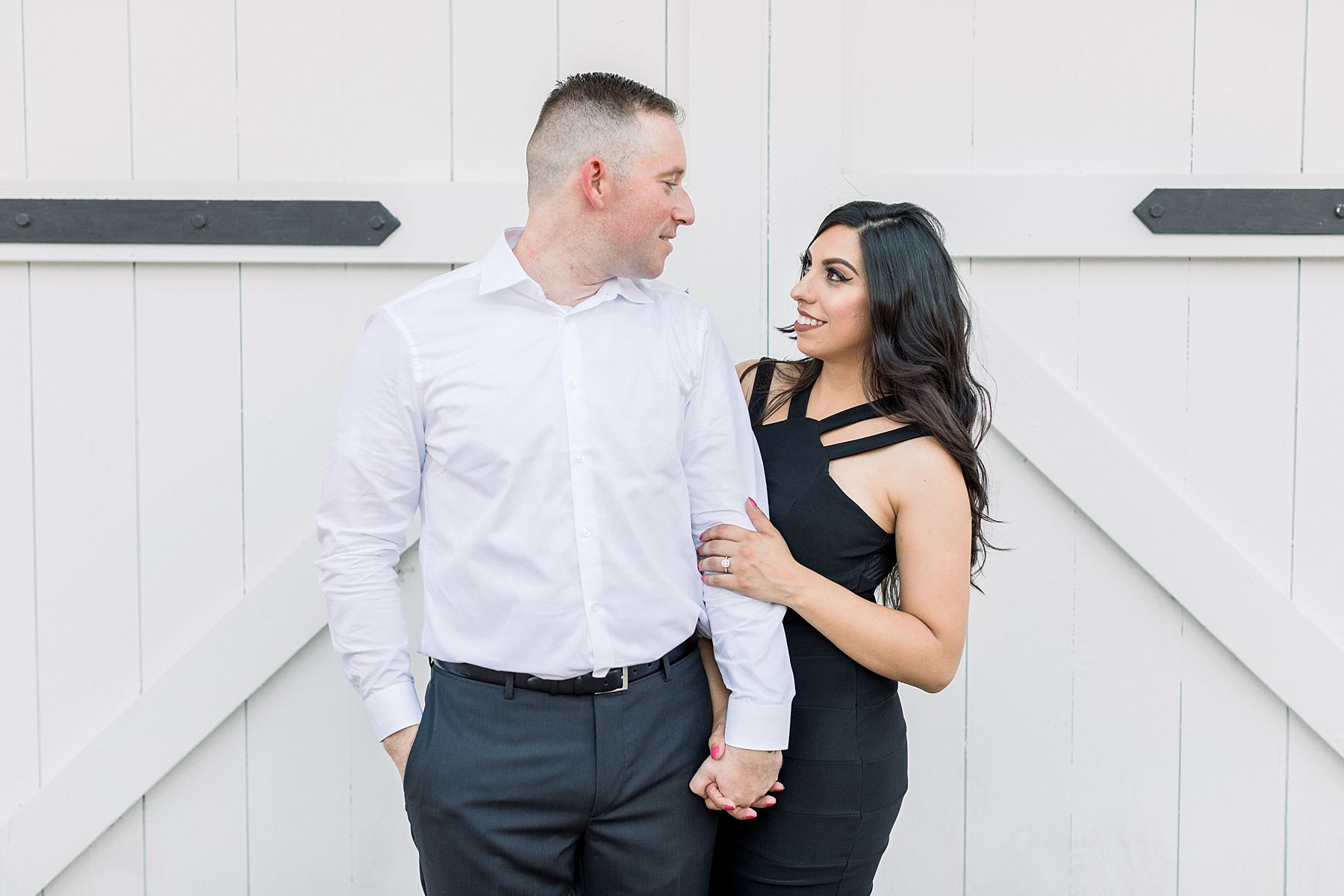 Old Sacramento Engagement Session - Downtown Sacramento Engagement Session - Black Tie Engagement Photos - Ashley Baumgartner - Sacramento Wedding Photographer_0003.jpg