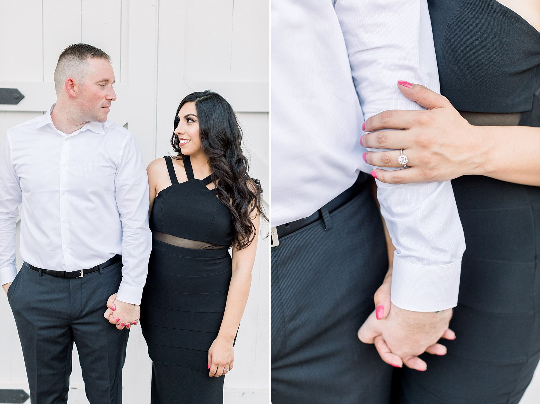 Old Sacramento Engagement Session - Downtown Sacramento Engagement Session - Black Tie Engagement Photos - Ashley Baumgartner - Sacramento Wedding Photographer_0006.jpg