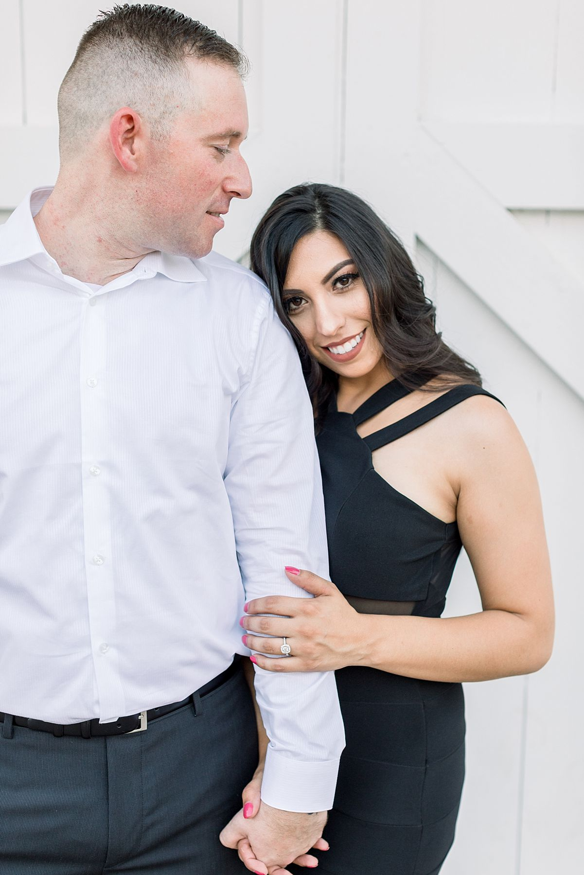 Old Sacramento Engagement Session - Downtown Sacramento Engagement Session - Black Tie Engagement Photos - Ashley Baumgartner - Sacramento Wedding Photographer_0007.jpg