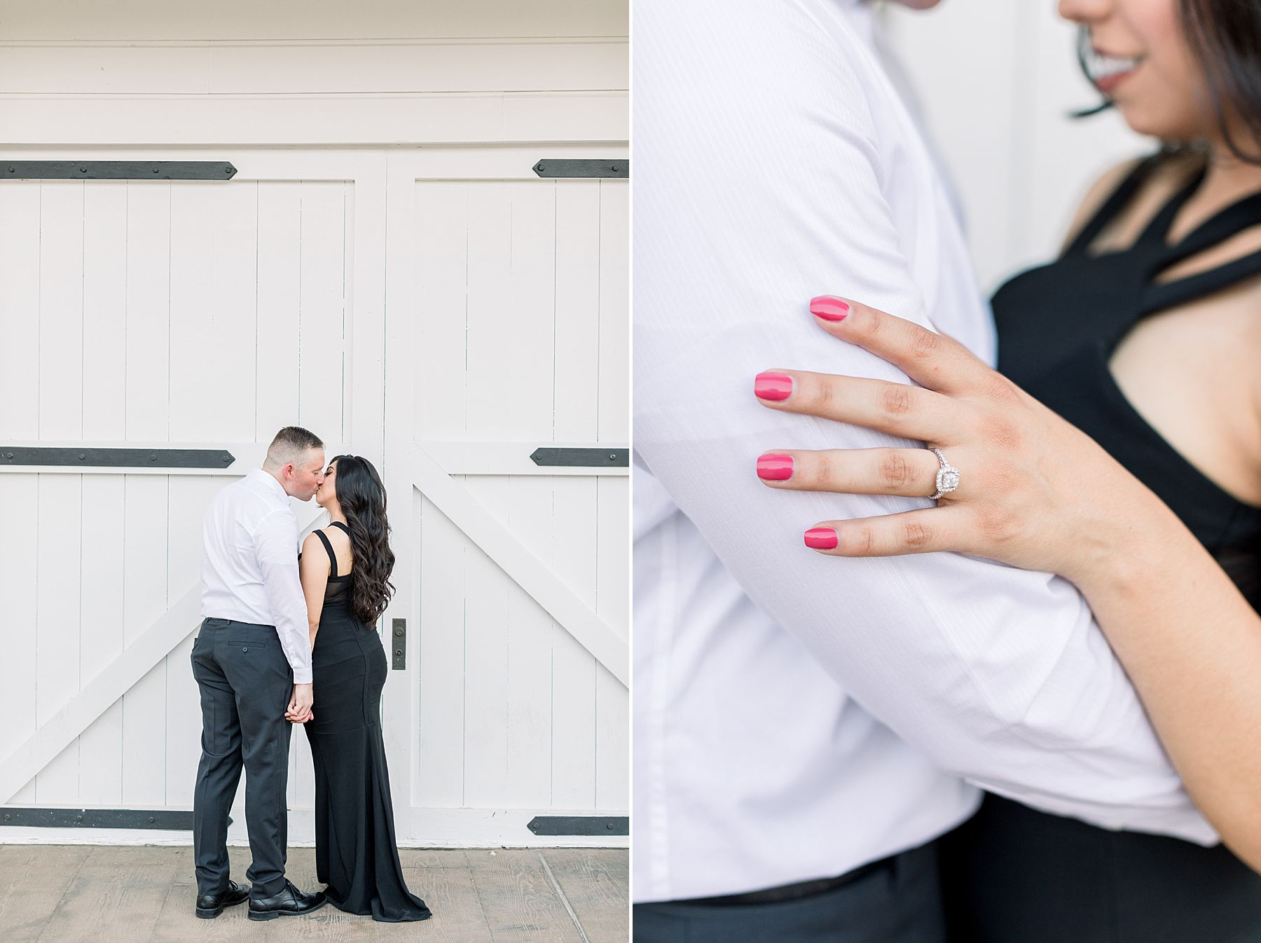 Old Sacramento Engagement Session - Downtown Sacramento Engagement Session - Black Tie Engagement Photos - Ashley Baumgartner - Sacramento Wedding Photographer_0012.jpg