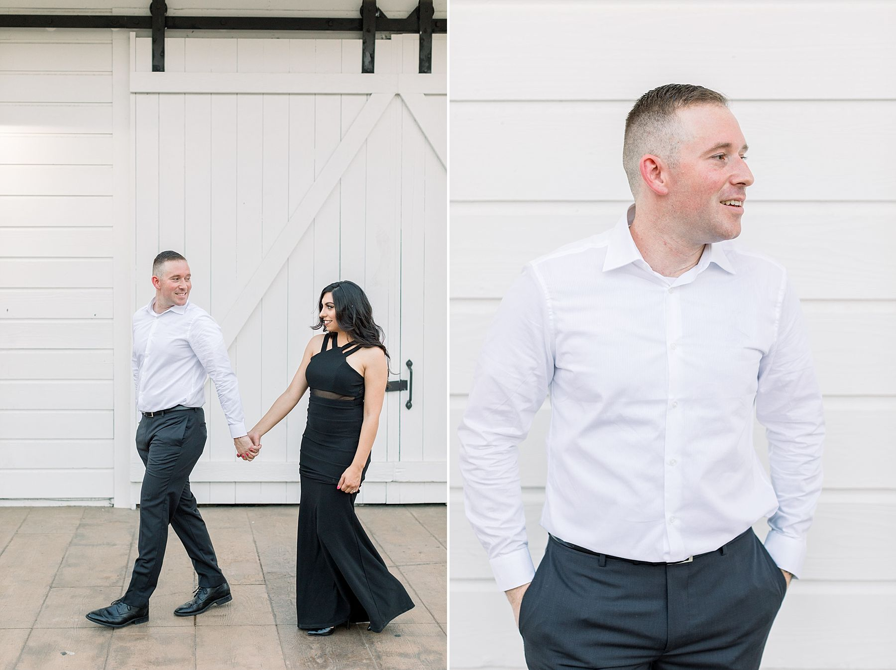 Old Sacramento Engagement Session - Downtown Sacramento Engagement Session - Black Tie Engagement Photos - Ashley Baumgartner - Sacramento Wedding Photographer_0014.jpg