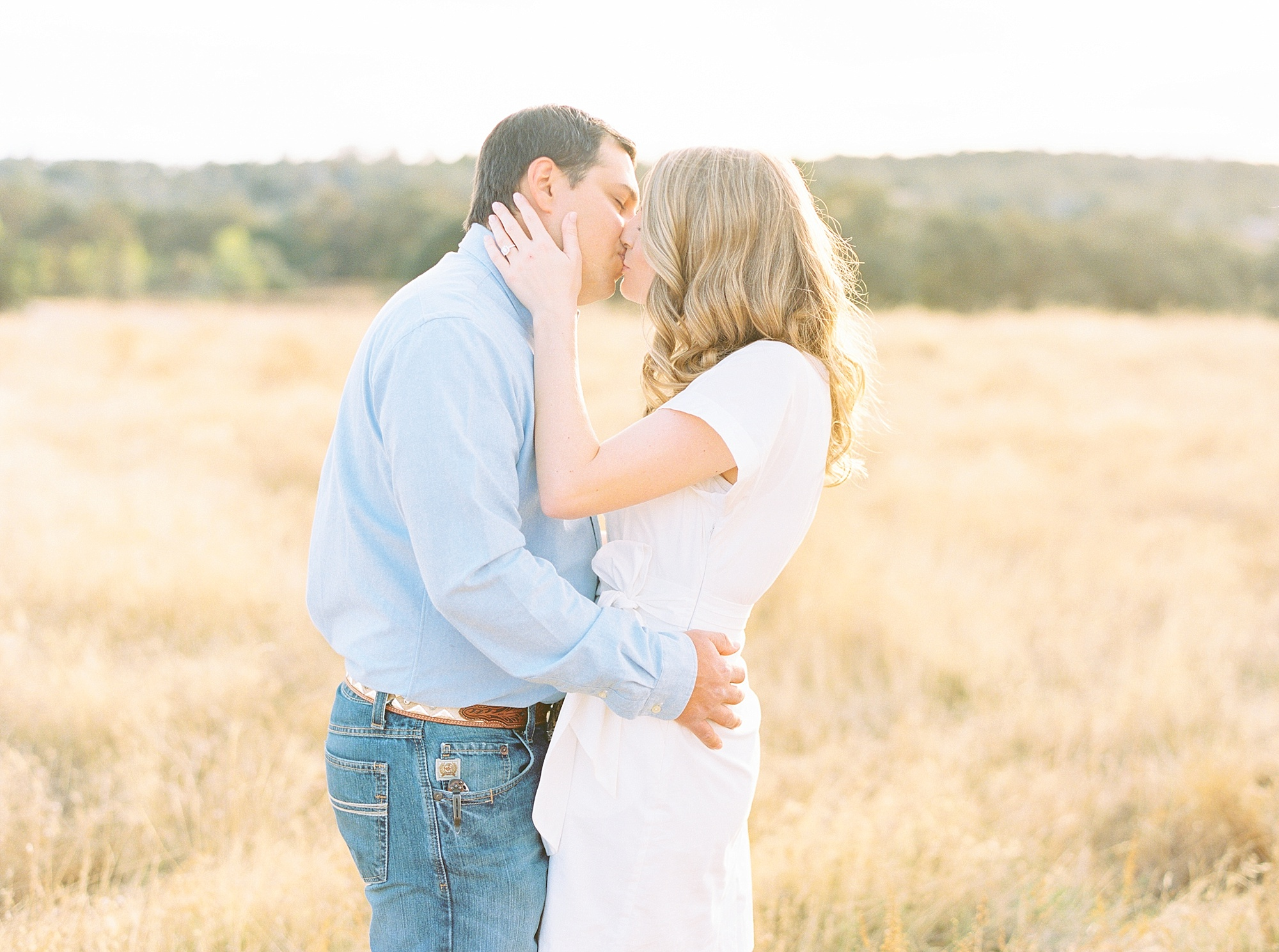 Golden Hills Engagement Session - Film Engagement Session - Ashley Baumgartner - Sacramento Wedding Photography - Stone Barn Ranch Wedding Couple_0005.jpg