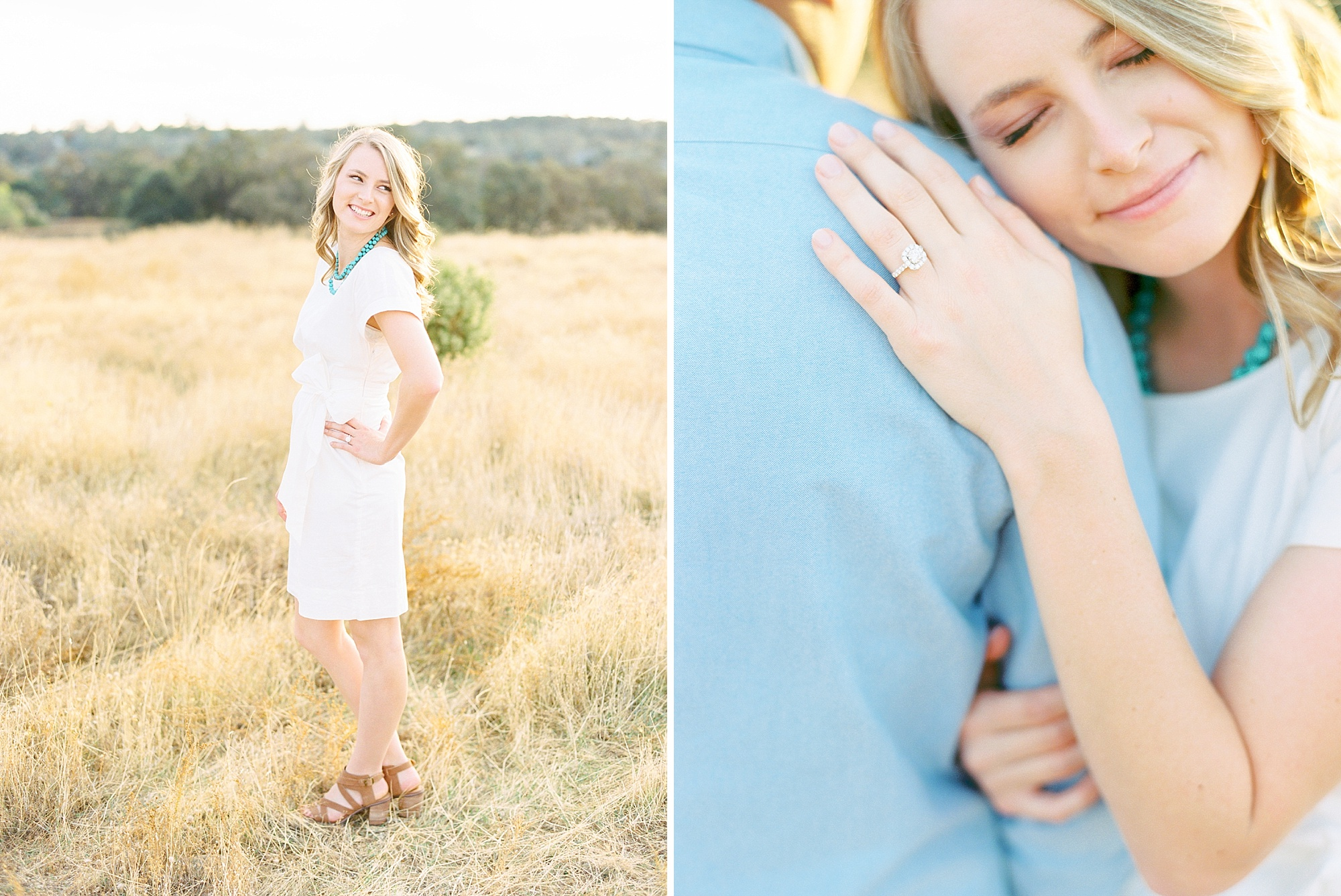 Golden Hills Engagement Session - Film Engagement Session - Ashley Baumgartner - Sacramento Wedding Photography - Stone Barn Ranch Wedding Couple_0008.jpg