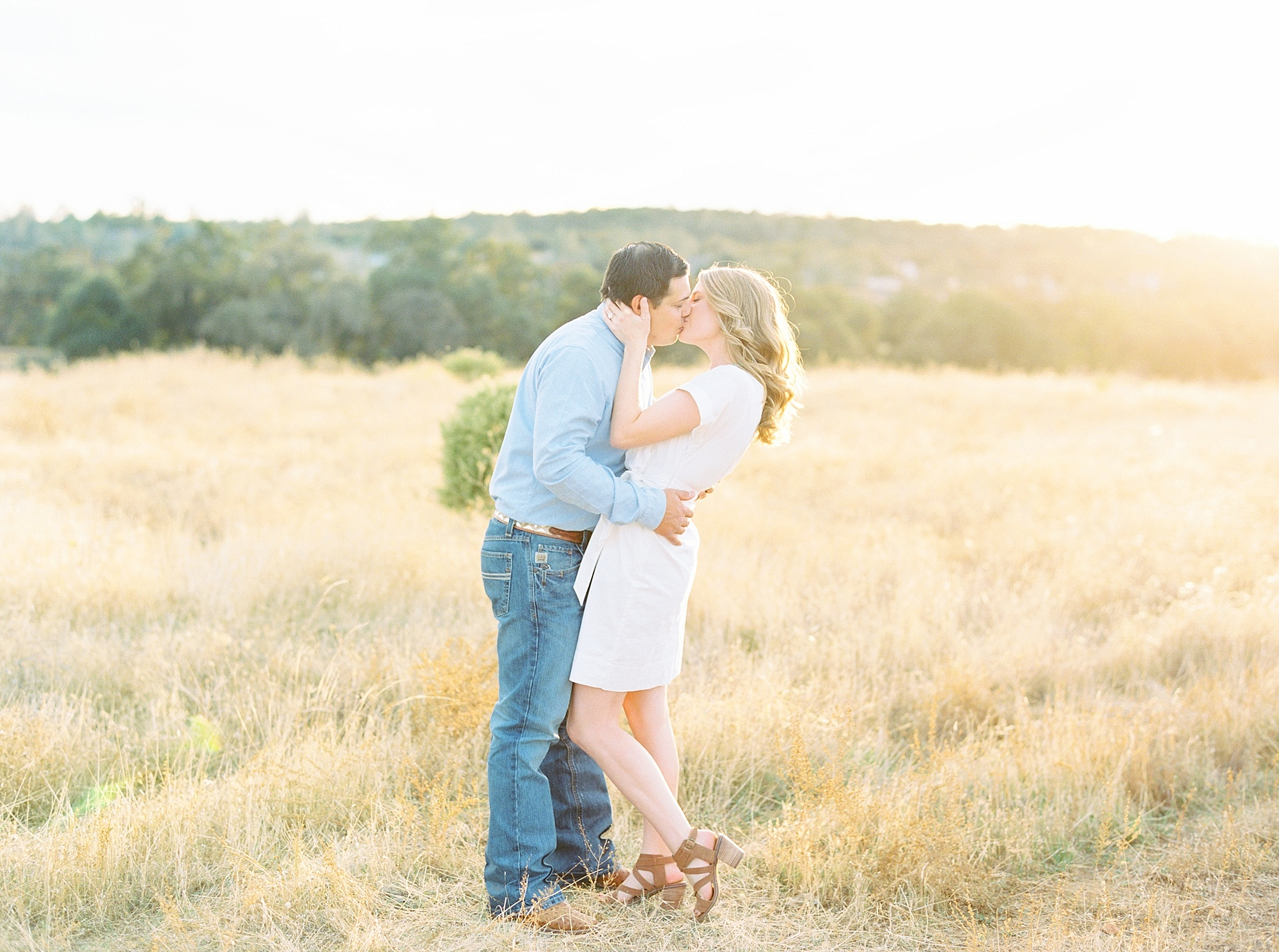Golden Hills Engagement Session - Film Engagement Session - Ashley Baumgartner - Sacramento Wedding Photography - Stone Barn Ranch Wedding Couple_0011.jpg