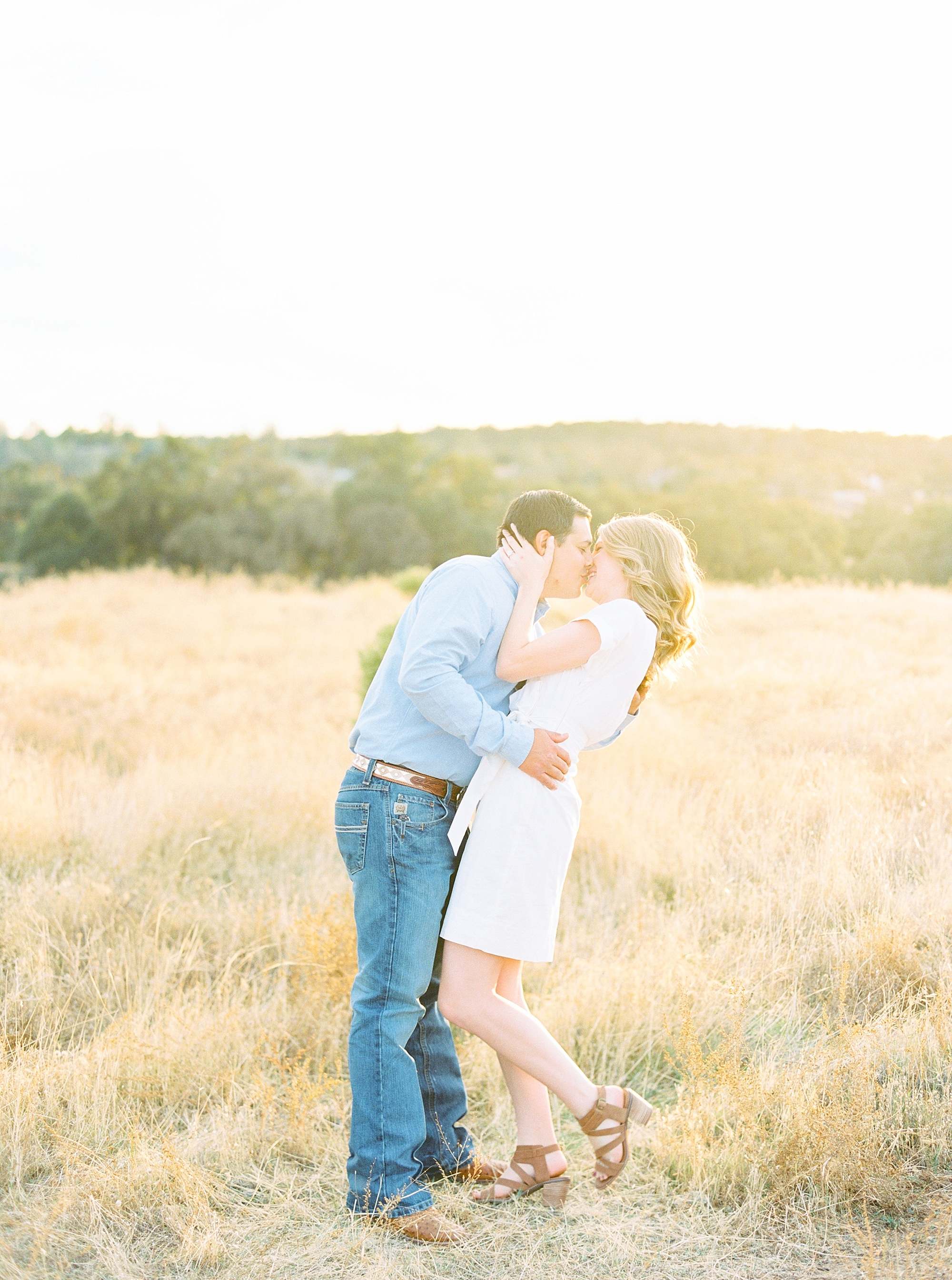 Golden Hills Engagement Session - Film Engagement Session - Ashley Baumgartner - Sacramento Wedding Photography - Stone Barn Ranch Wedding Couple_0015.jpg