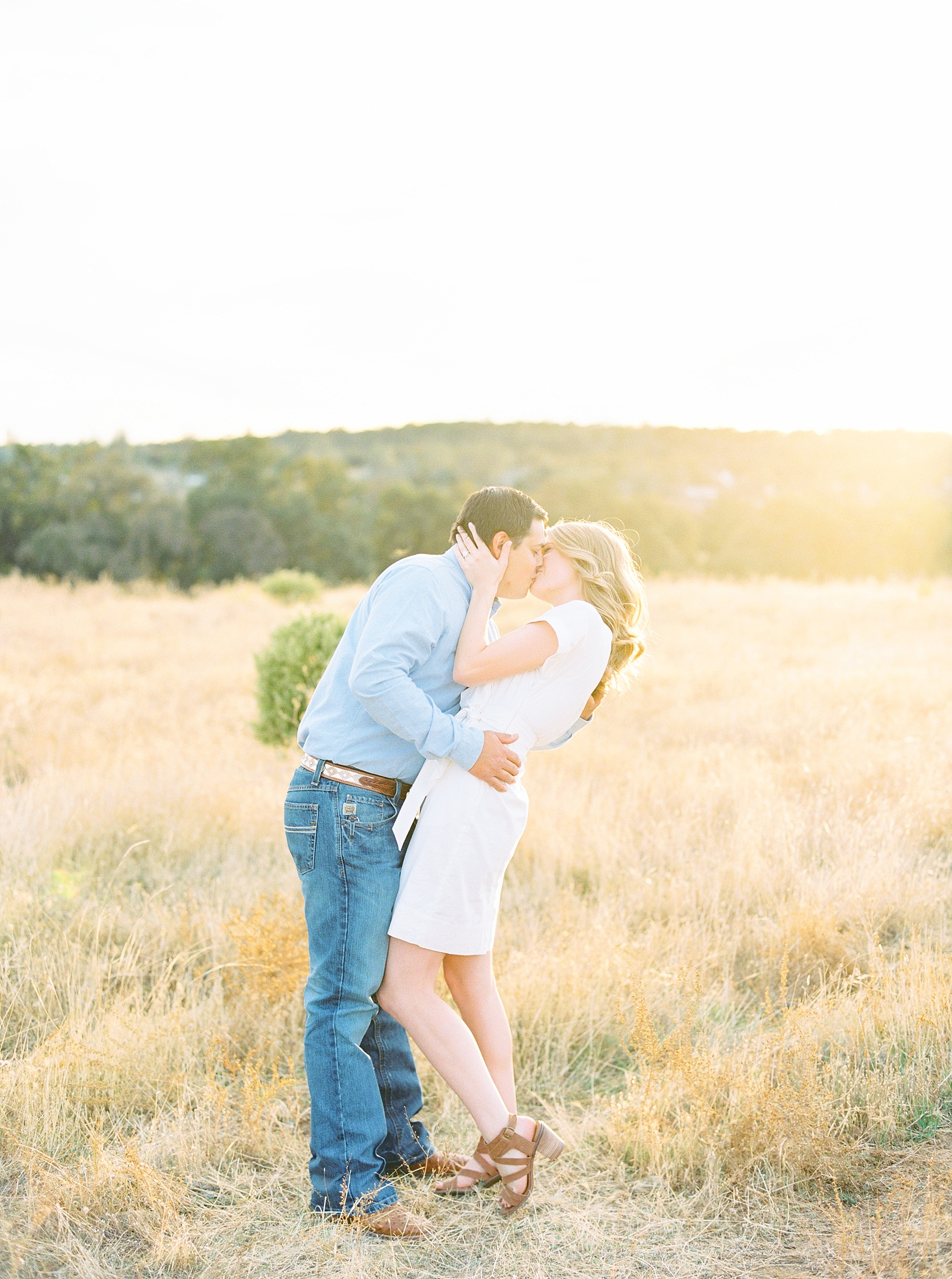 Golden Hills Engagement Session - Film Engagement Session - Ashley Baumgartner - Sacramento Wedding Photography - Stone Barn Ranch Wedding Couple_0017.jpg