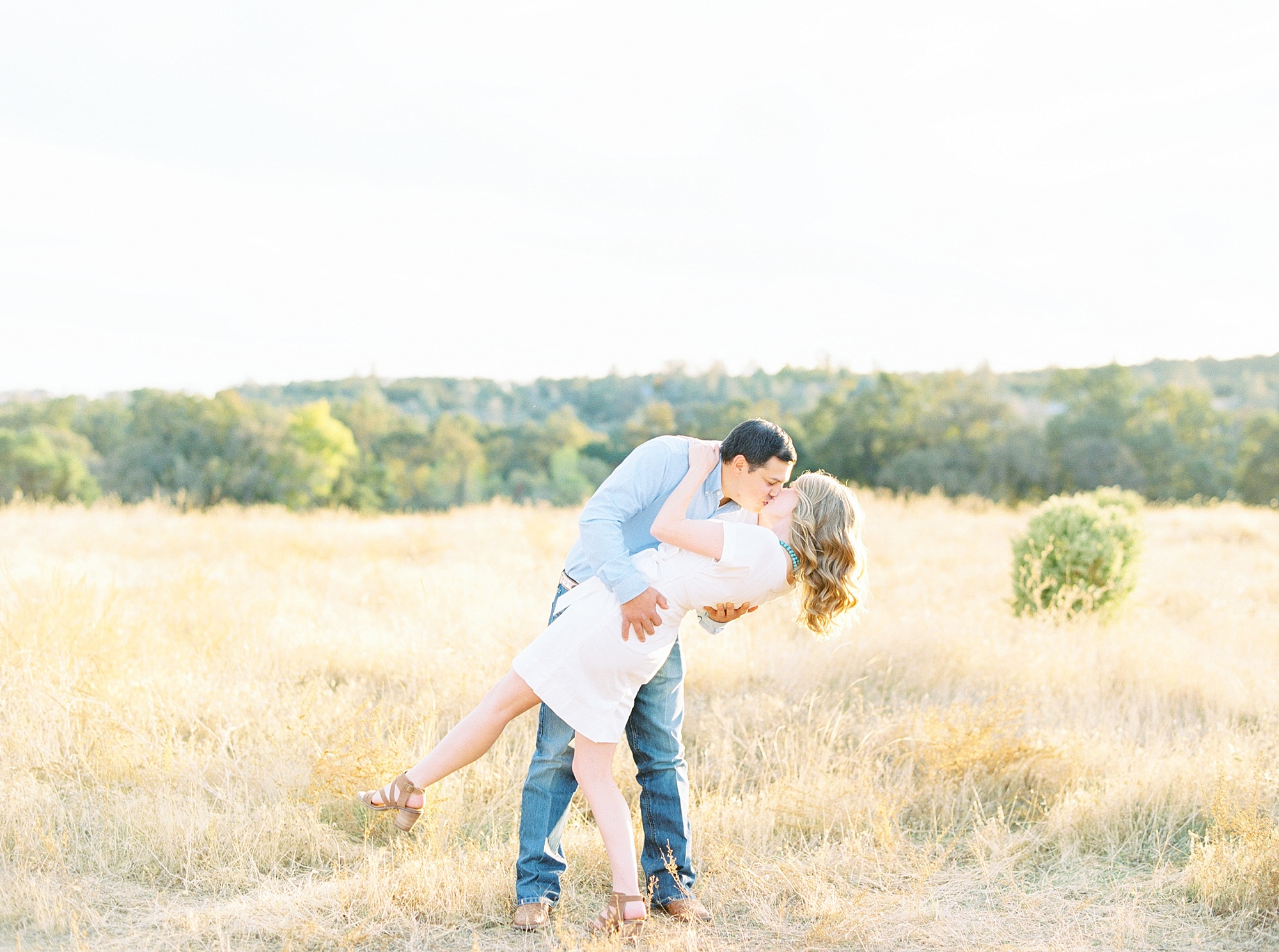 Golden Hills Engagement Session - Film Engagement Session - Ashley Baumgartner - Sacramento Wedding Photography - Stone Barn Ranch Wedding Couple_0021.jpg