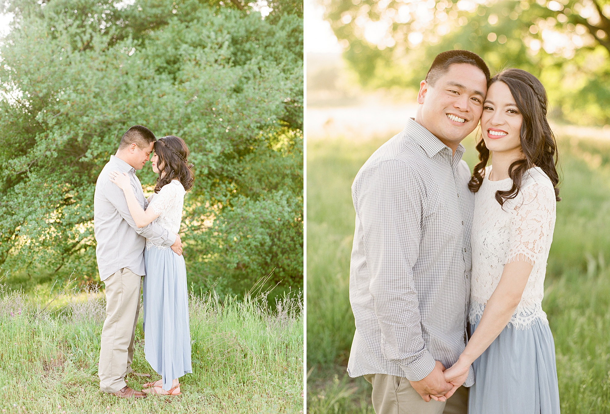 El Dorado Hills Engagement Session - Wendy and Danny - Ashley Baumgartner - Sacramento Wedding Photographer and Sacramento Wedding Photography - Bay Area Wedding Photographer_0004.jpg