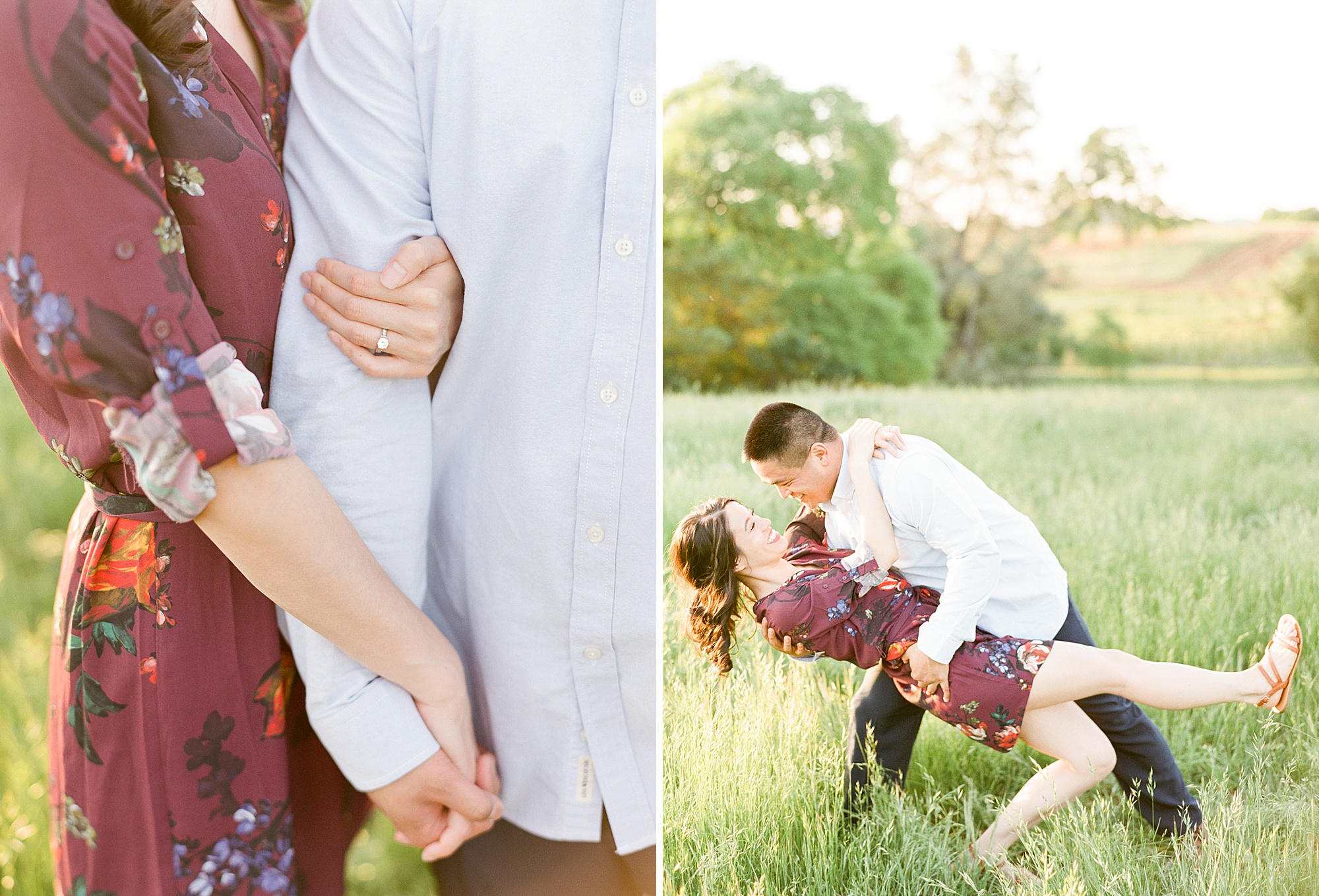 El Dorado Hills Engagement Session - Wendy and Danny - Ashley Baumgartner - Sacramento Wedding Photographer and Sacramento Wedding Photography - Bay Area Wedding Photographer_0022.jpg