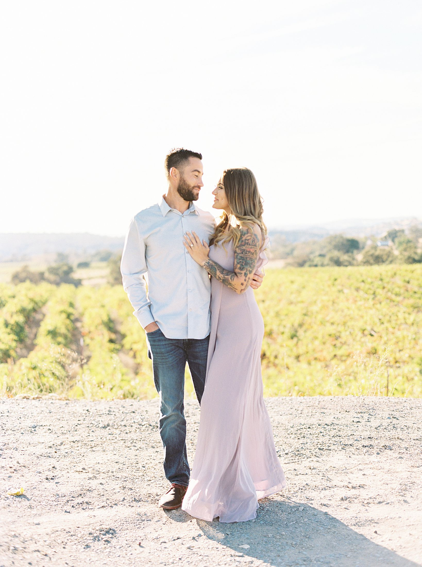 Helwig Winery Engagement Session - Steffanie and Rich - Jenn Robirds Events - Ashley Baumgartner - Sacramento Wedding Photographer - Private Estate Wedding Photographer - Helwig WInery Wedding_0076.jpg