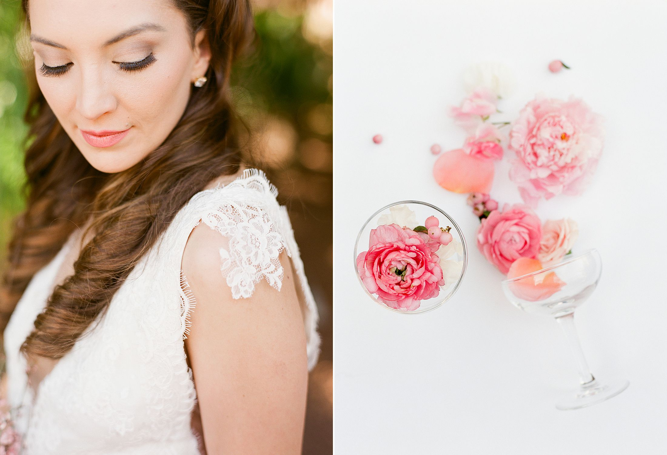 Pink Ombre Wedding Inspiration on Style Me Pretty - Royal Palms Wedding - Scottsdale Wedding - Ashley Baumgartner - Bloom and Blueprint - Wedding Puppies - Bulldog Puppies_0020.jpg