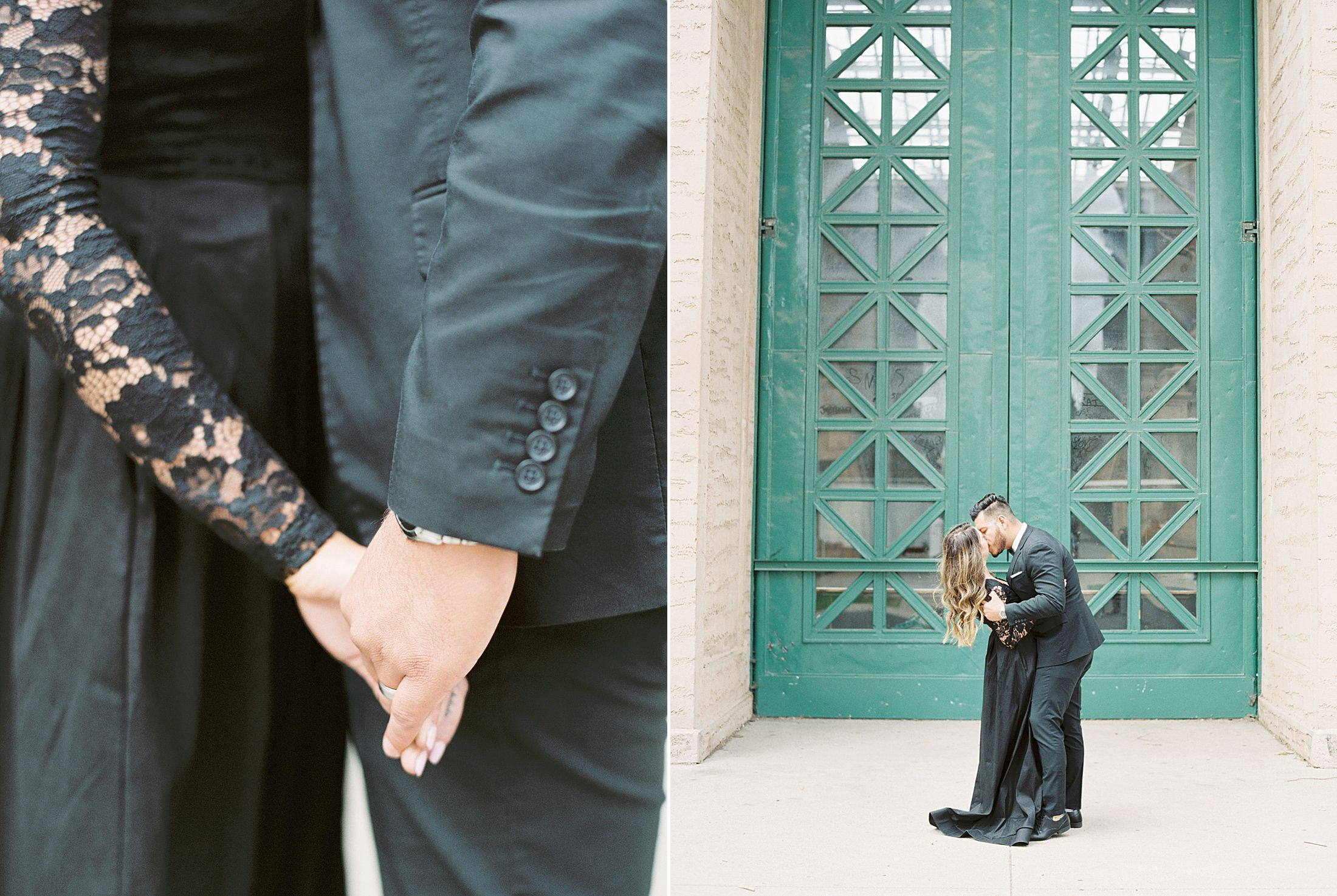SF City Hall Black Tie Engagement and Palace of Fine Arts Engagement - Ashley Baumgartner - Esmeralda and Jesus - SF Wedding Photographer_0017.jpg
