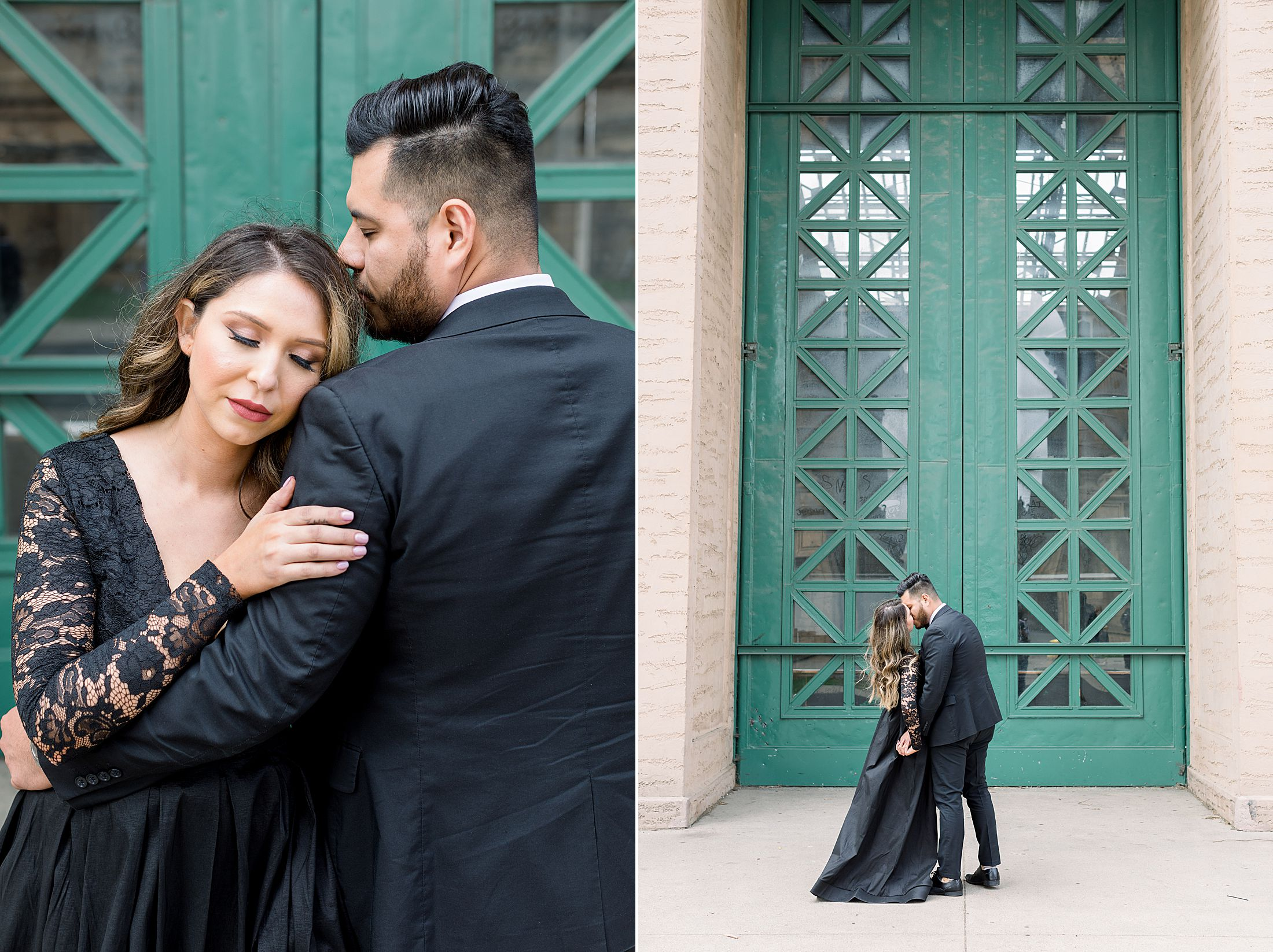 SF City Hall Black Tie Engagement and Palace of Fine Arts Engagement - Ashley Baumgartner - Esmeralda and Jesus - SF Wedding Photographer_0023.jpg