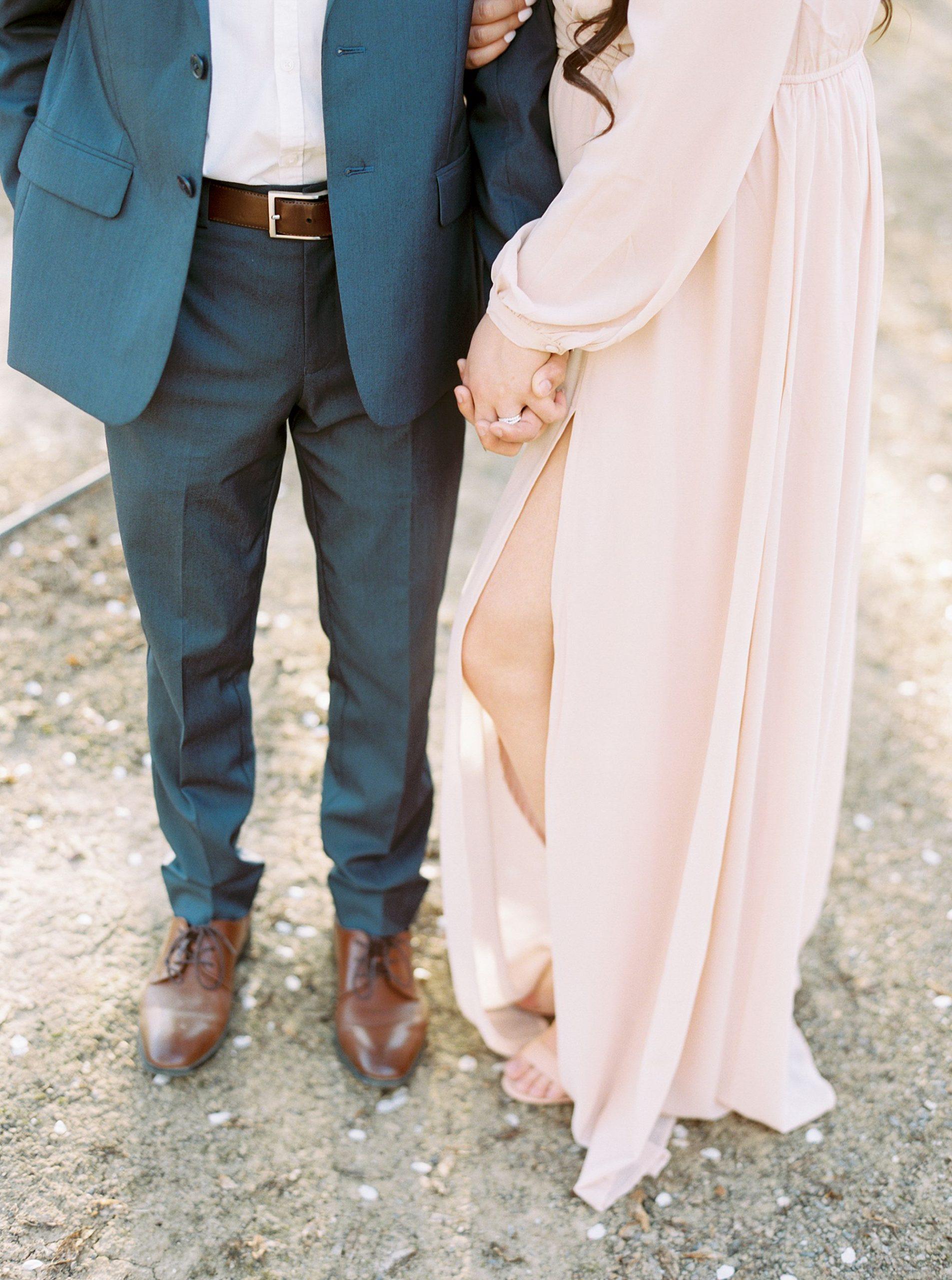 Almond Orchard Engagement Session - Caley and Tyler - Lone Oak Wedding - Ashley Baumgartner - Almond Blossom_0014.jpg