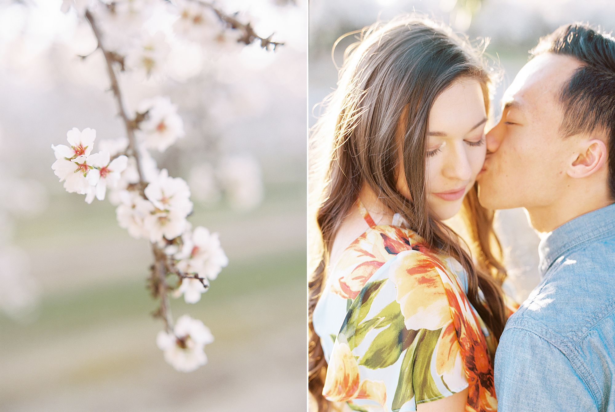 Almond Orchard Engagement Session - Caley and Tyler - Lone Oak Wedding - Ashley Baumgartner - Almond Blossom_0020.jpg