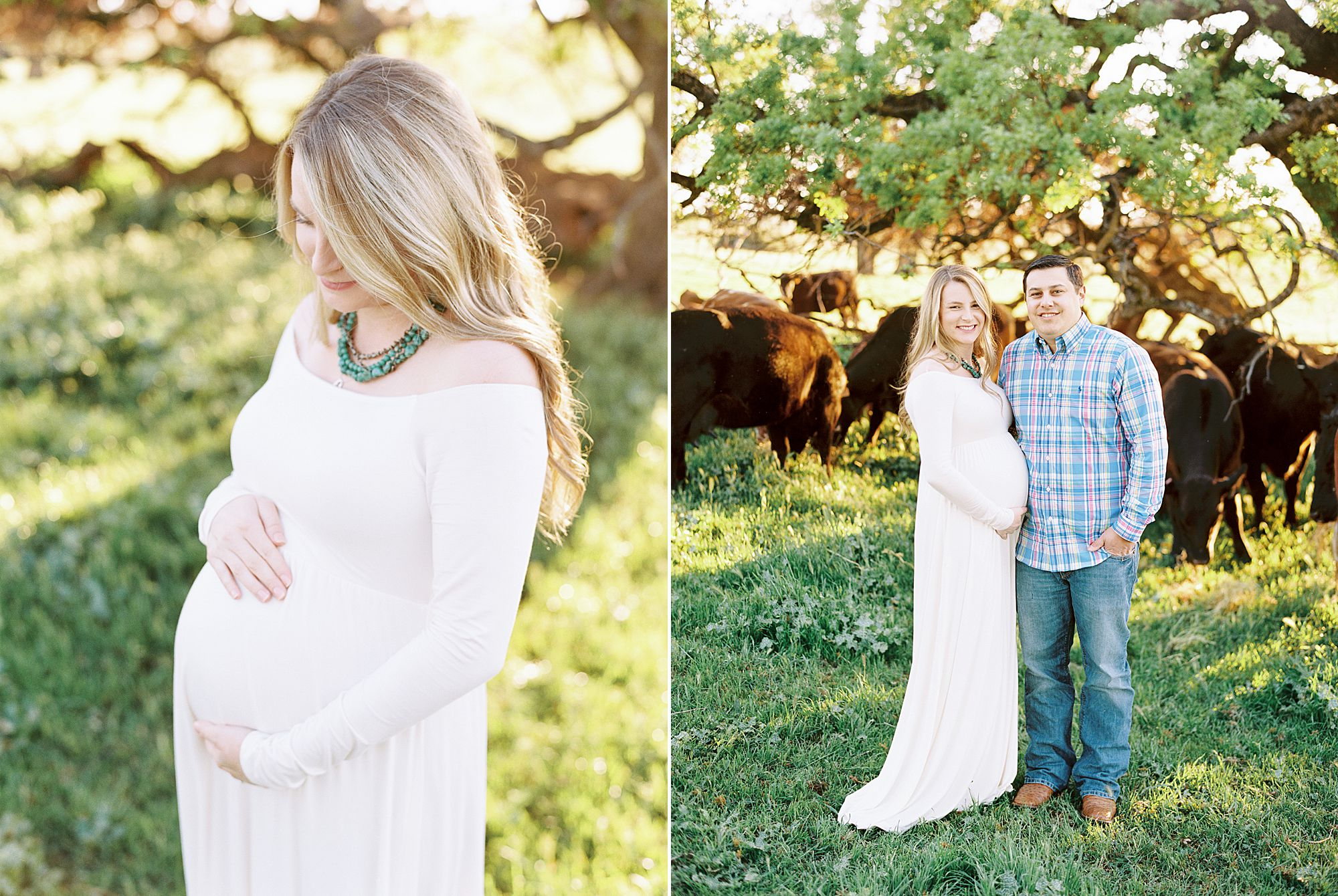 Sheridan Maternity Session - Lexie and Nick - Sacramento Maternity Photos by Ashley Baumgartner - Farmland, 4H Maternity with Cows_0005.jpg