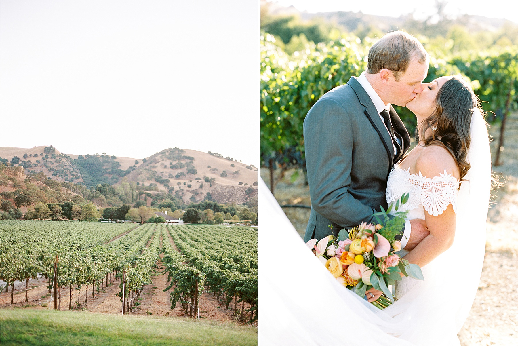 Wente Wedding with A Tropical Color Palette - Ashley & Mike - Featured on Inspired by This - Ashley Baumgartner_0025.jpg