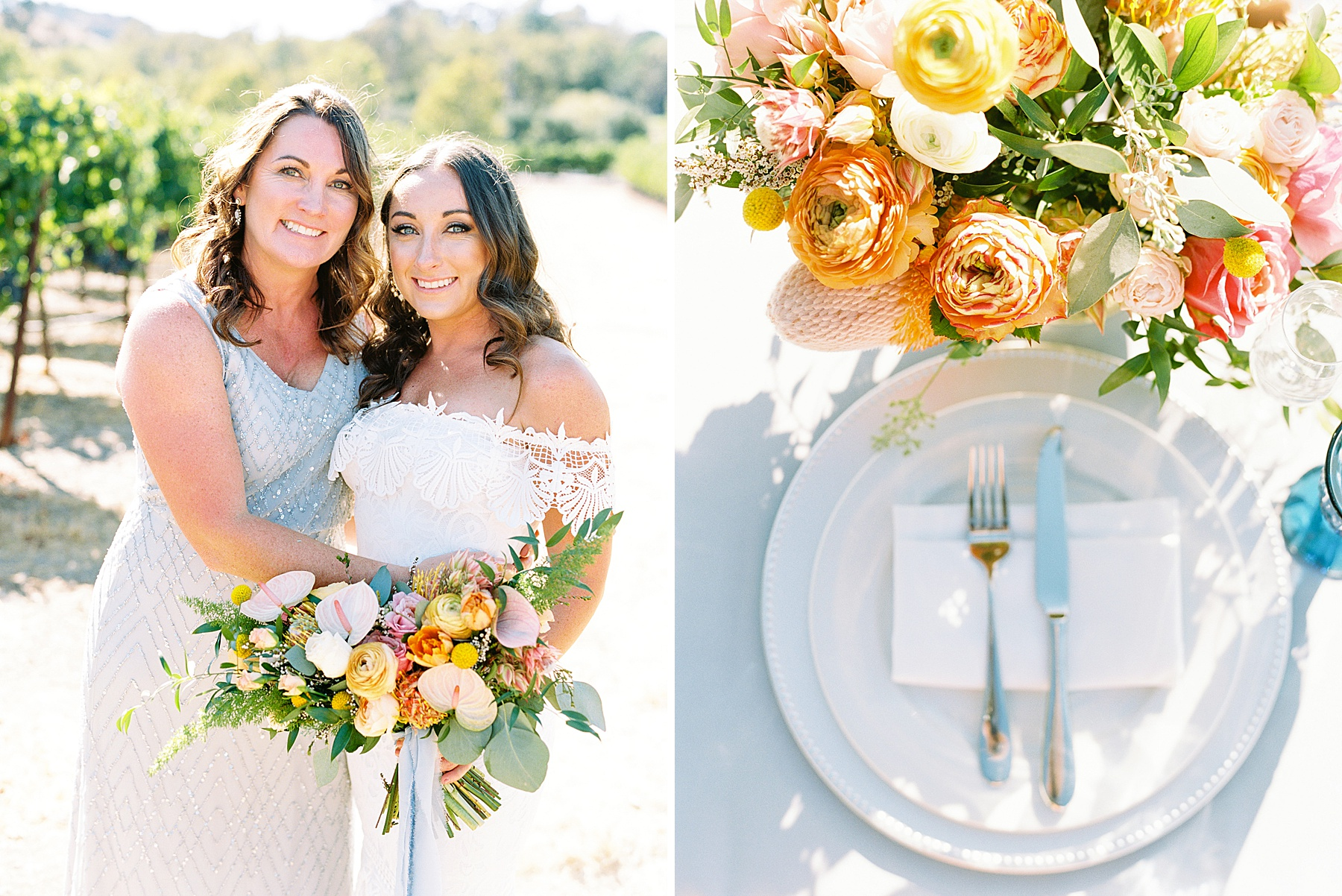 Wente Wedding with A Tropical Color Palette - Ashley & Mike - Featured on Inspired by This - Ashley Baumgartner_0031.jpg