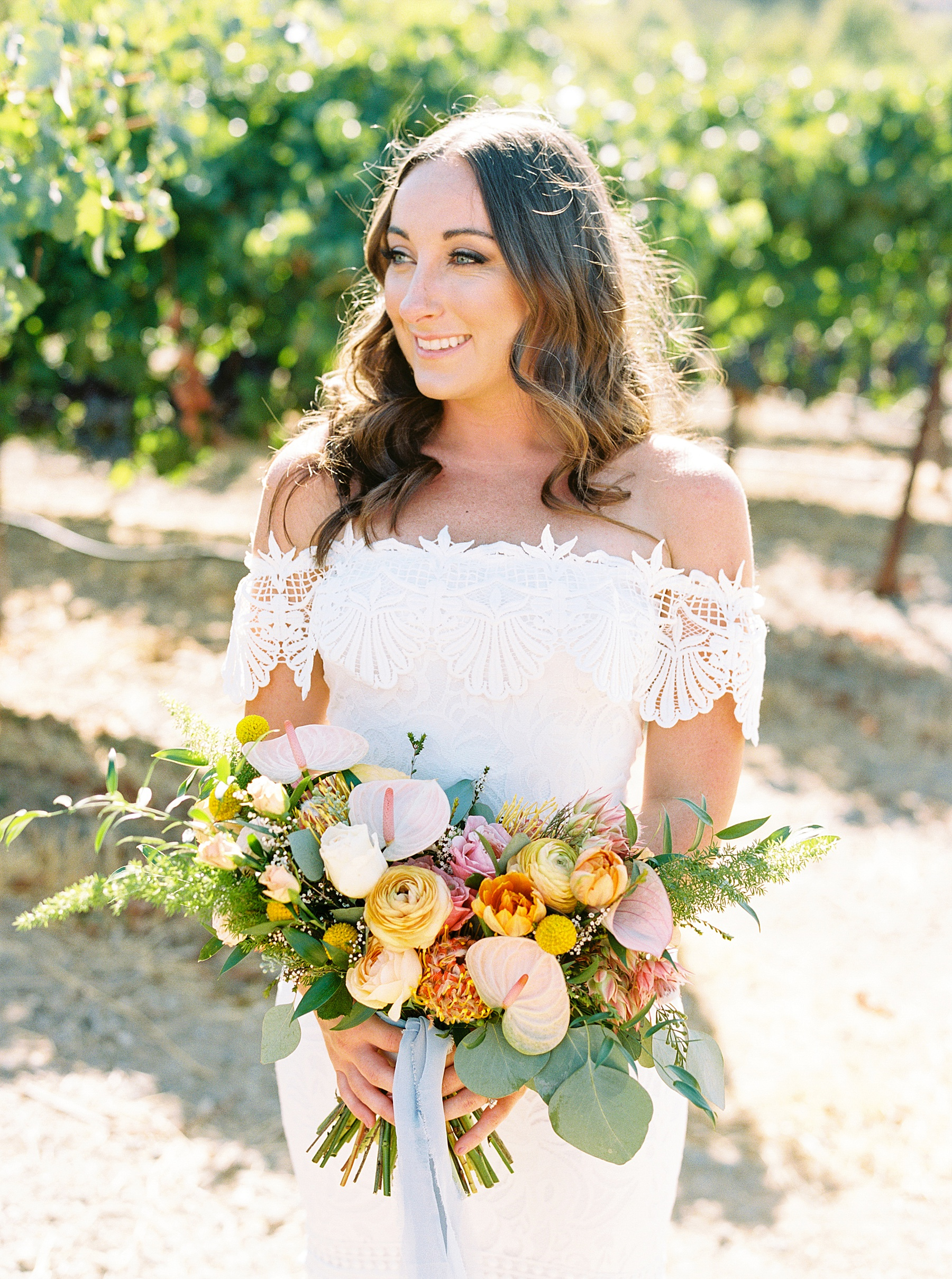 Wente Wedding with A Tropical Color Palette - Ashley & Mike - Featured on Inspired by This - Ashley Baumgartner_0032.jpg