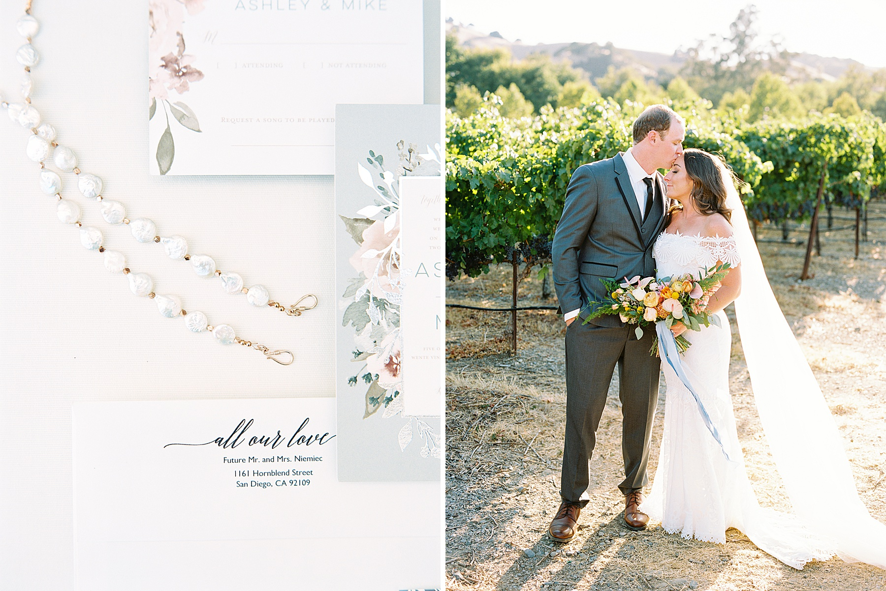 Wente Wedding with A Tropical Color Palette - Ashley & Mike - Featured on Inspired by This - Ashley Baumgartner_0033.jpg