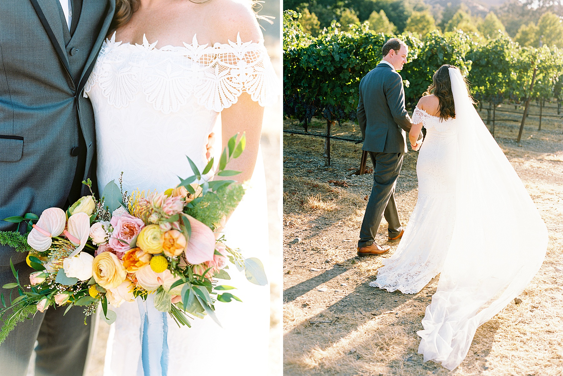 Wente Wedding with A Tropical Color Palette - Ashley & Mike - Featured on Inspired by This - Ashley Baumgartner_0049.jpg