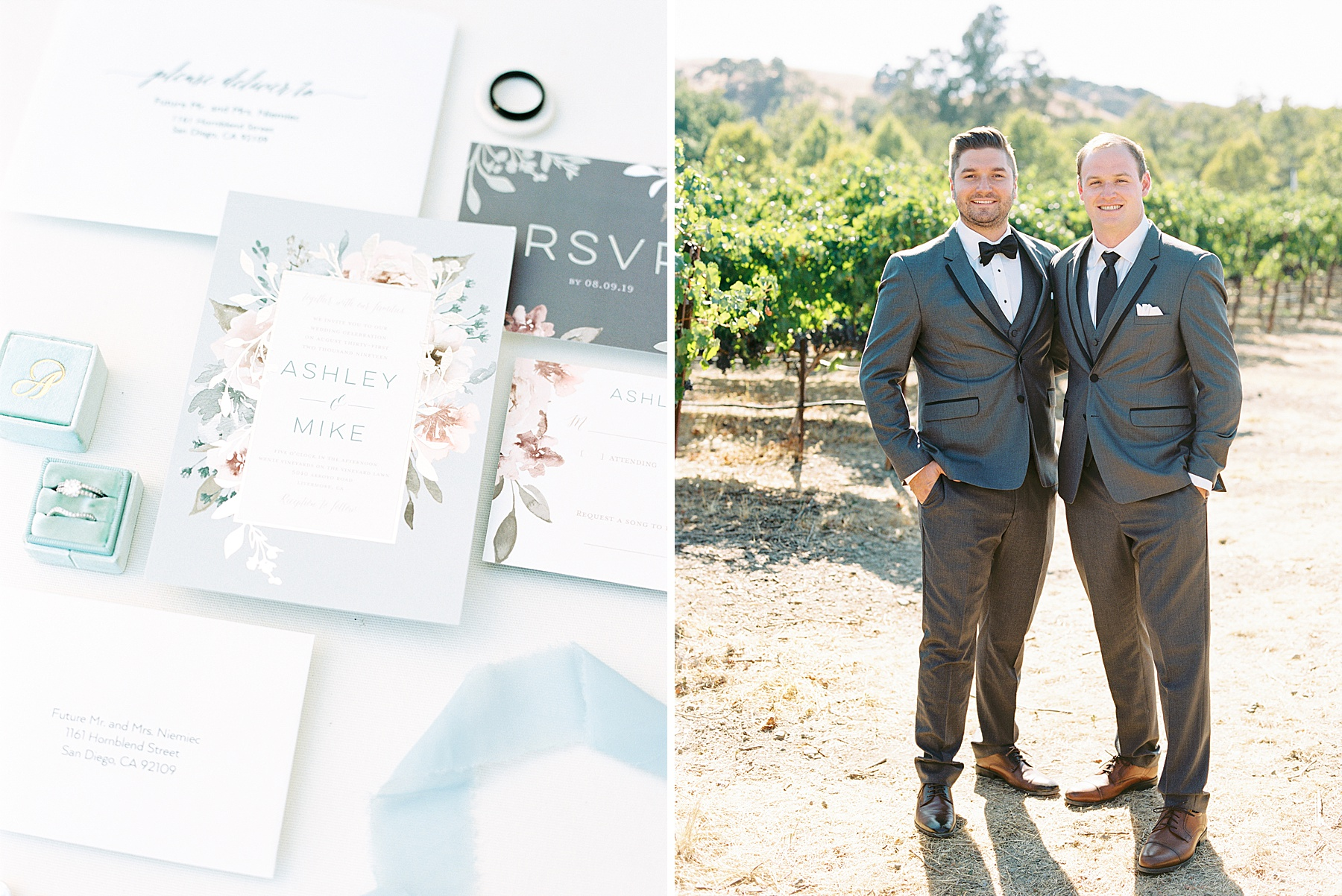 Wente Wedding with A Tropical Color Palette - Ashley & Mike - Featured on Inspired by This - Ashley Baumgartner_0055.jpg