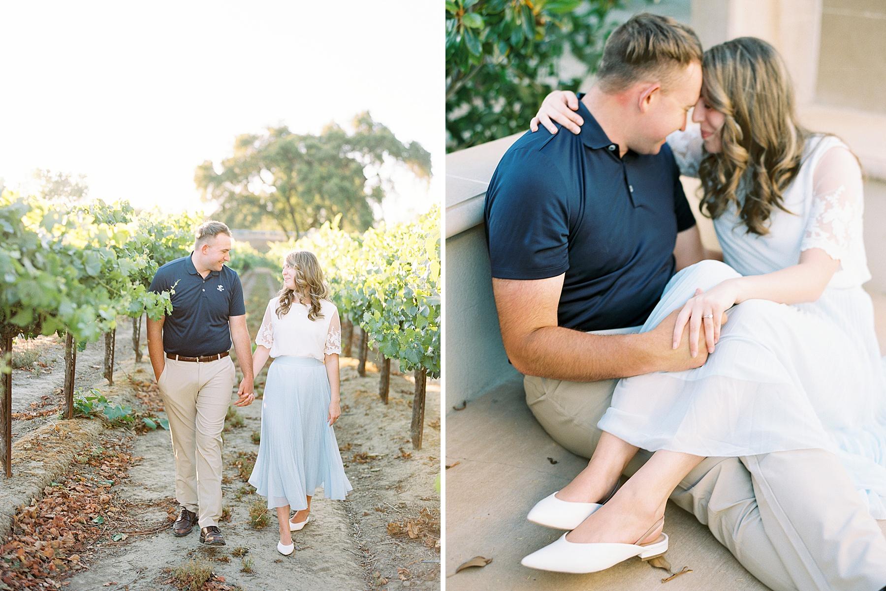 Scribner Bend Winery Engagement Session - Courtney and Steven - Ashley Baumgartner - Sribner Bend Wedding Photographer - Sacramento Wedding Photographer_0022.jpg