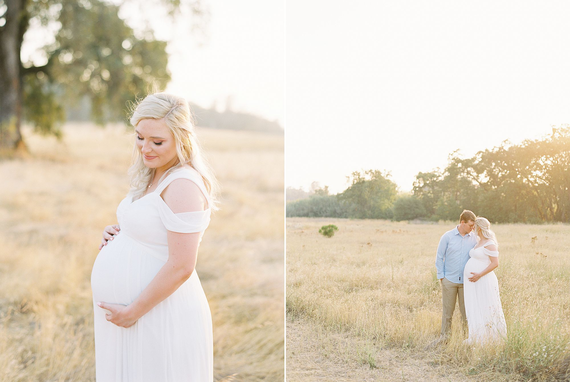 Golden Sacramento Maternity - Hannah and Connor - Ashley Baumgartner - Sacramento Maternity Photographer_0002.jpg