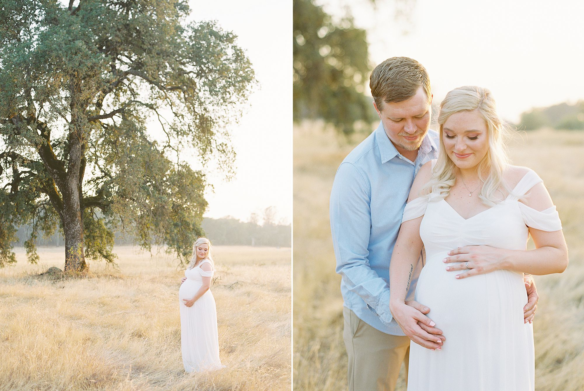 Golden Sacramento Maternity - Hannah and Connor - Ashley Baumgartner - Sacramento Maternity Photographer_0004.jpg
