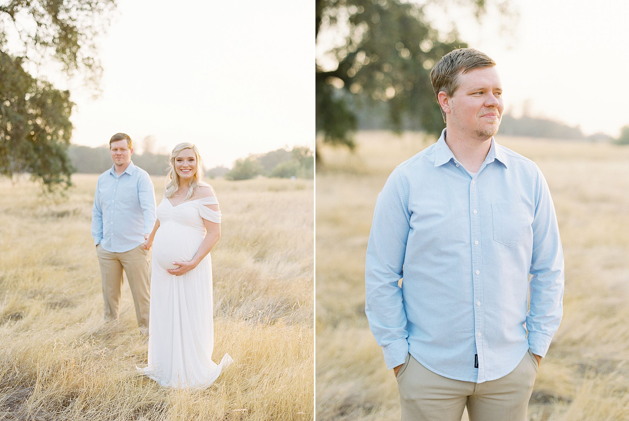 Golden Sacramento Maternity - Hannah and Connor - Ashley Baumgartner - Sacramento Maternity Photographer_0008.jpg
