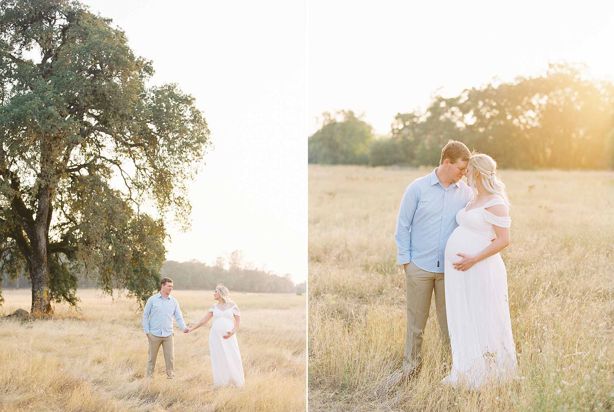 Golden Sacramento Maternity - Hannah and Connor - Ashley Baumgartner - Sacramento Maternity Photographer_0010.jpg