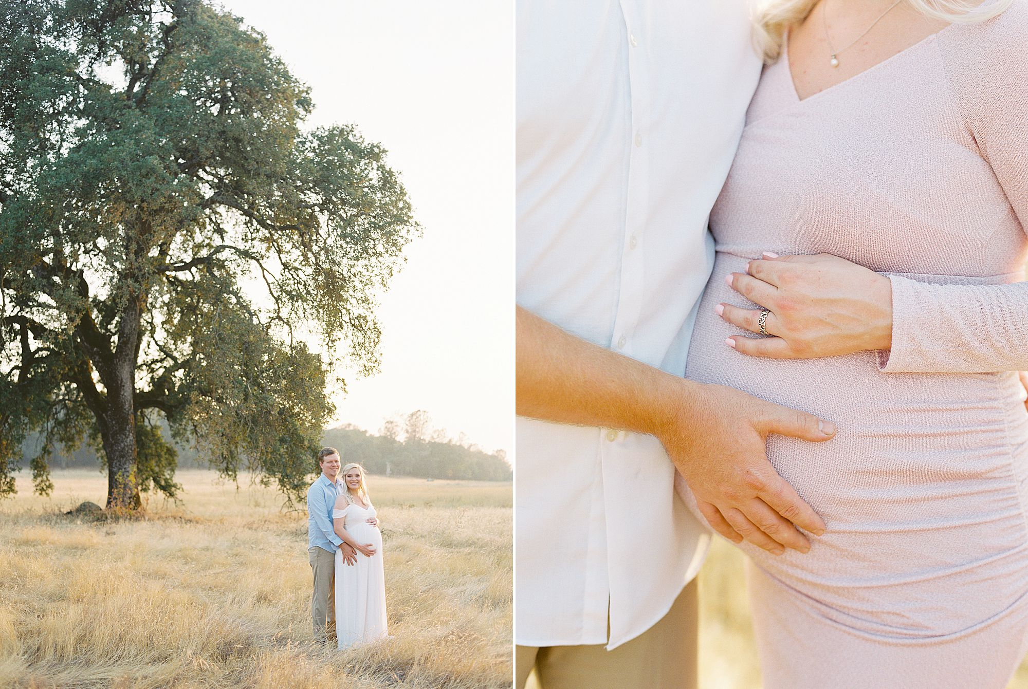 Golden Sacramento Maternity - Hannah and Connor - Ashley Baumgartner - Sacramento Maternity Photographer_0012.jpg